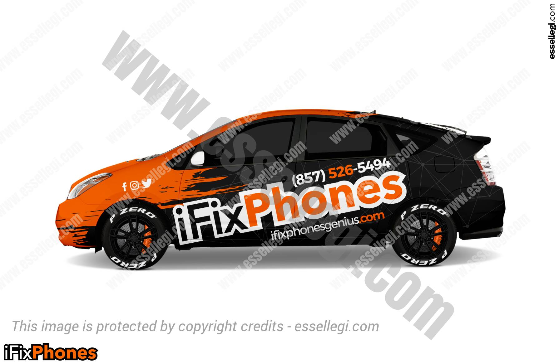 iFIXPHONES | CAR WRAP DESIGN 🇺🇸