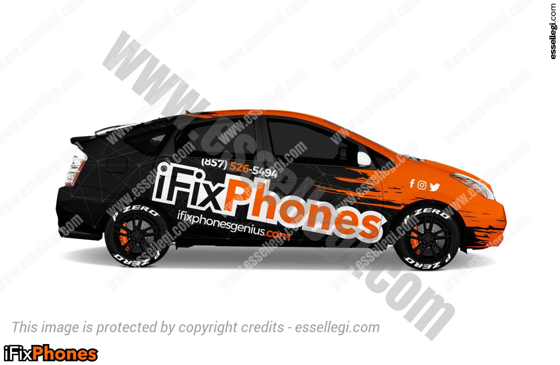 Toyota Prius Car Wrap Design By Essellegi Wrap Design