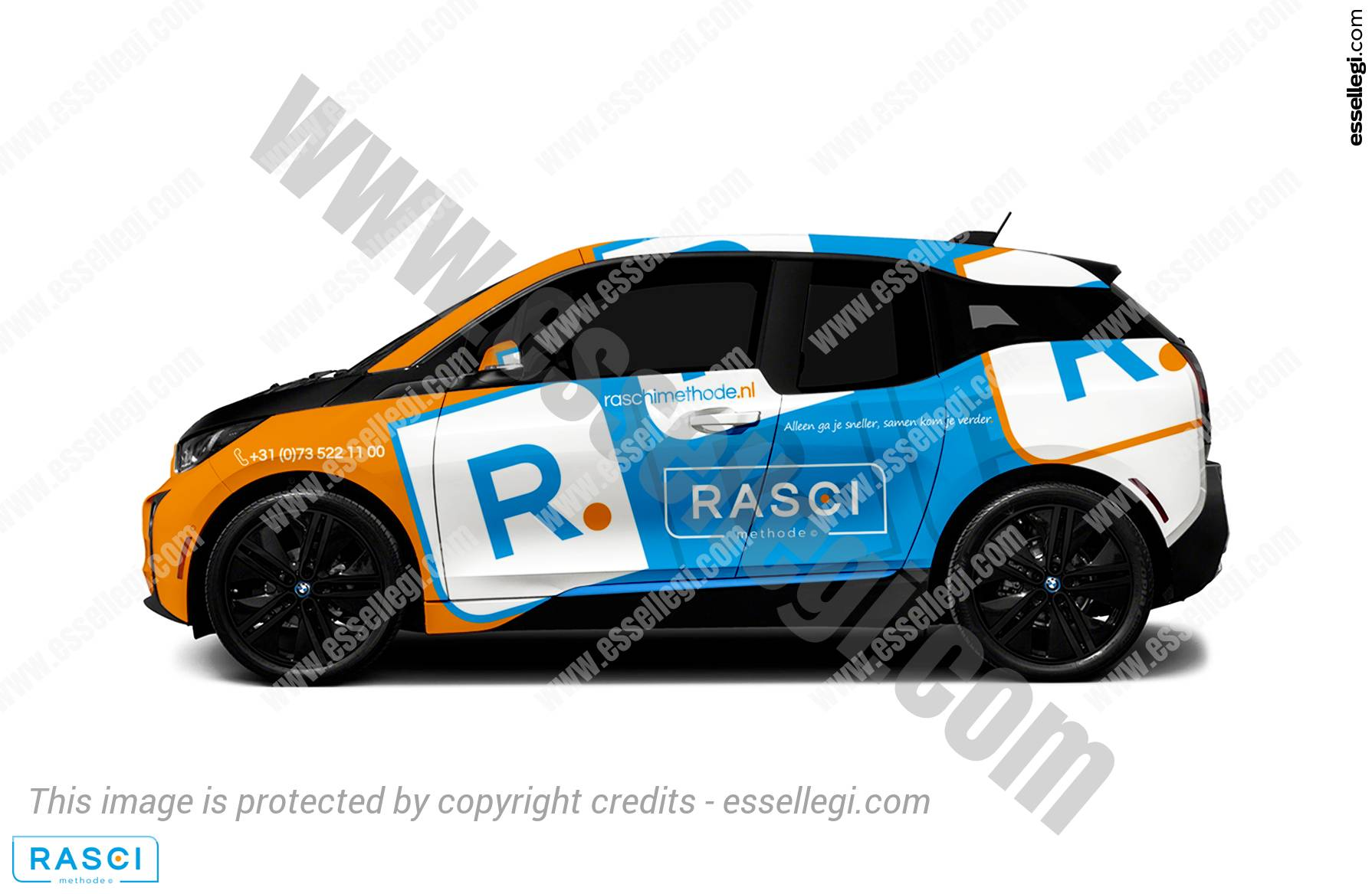 RASCI METHODE | CAR WRAP DESIGN 🇳🇱