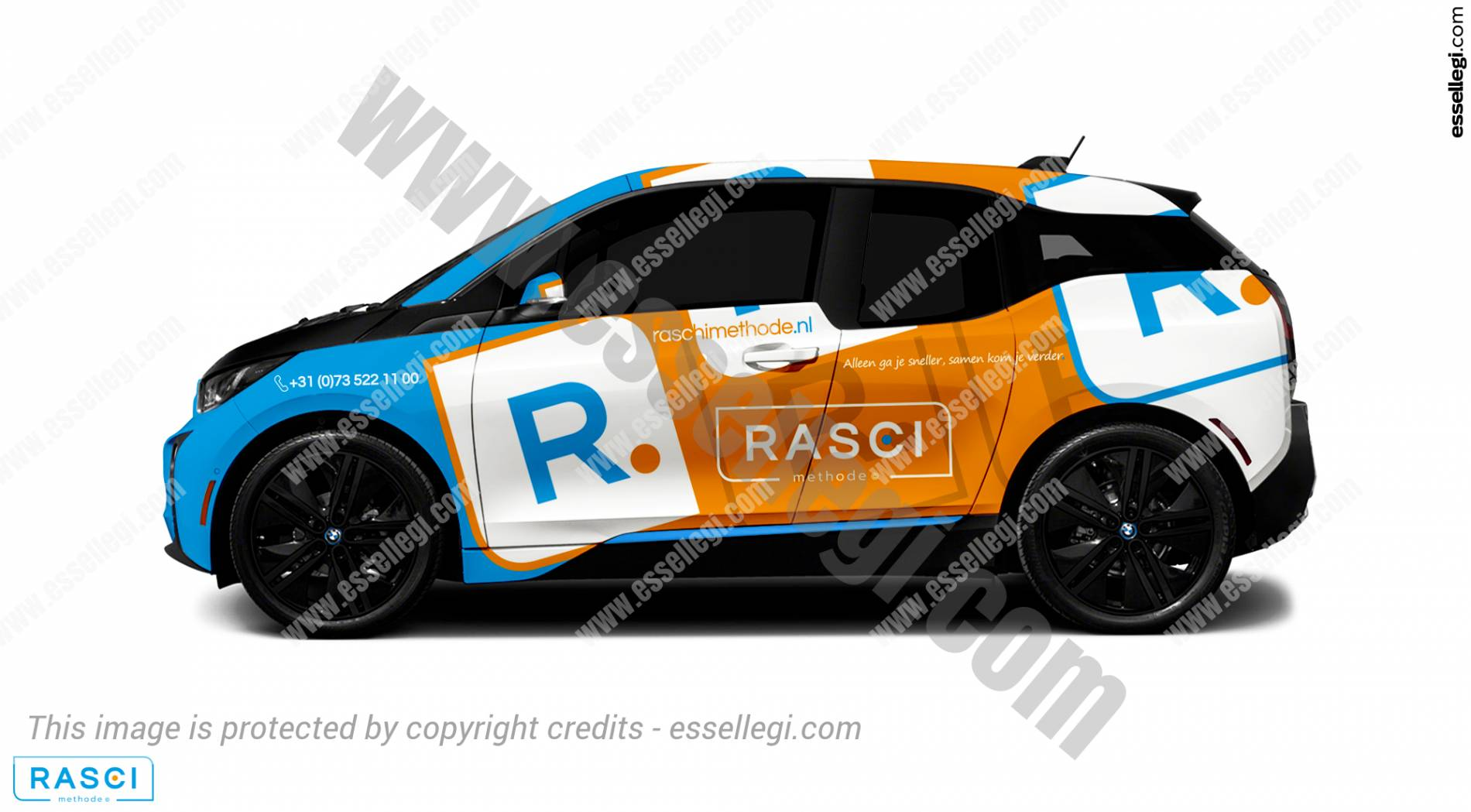 BMW i3 | Car Wrap Design by Essellegi. Car Signs, Car Signage, Car Signwriting, Car Wrap Designer, Car Graphic, Custom Vehicle Signage, Car Wrap Design by Essellegi.
