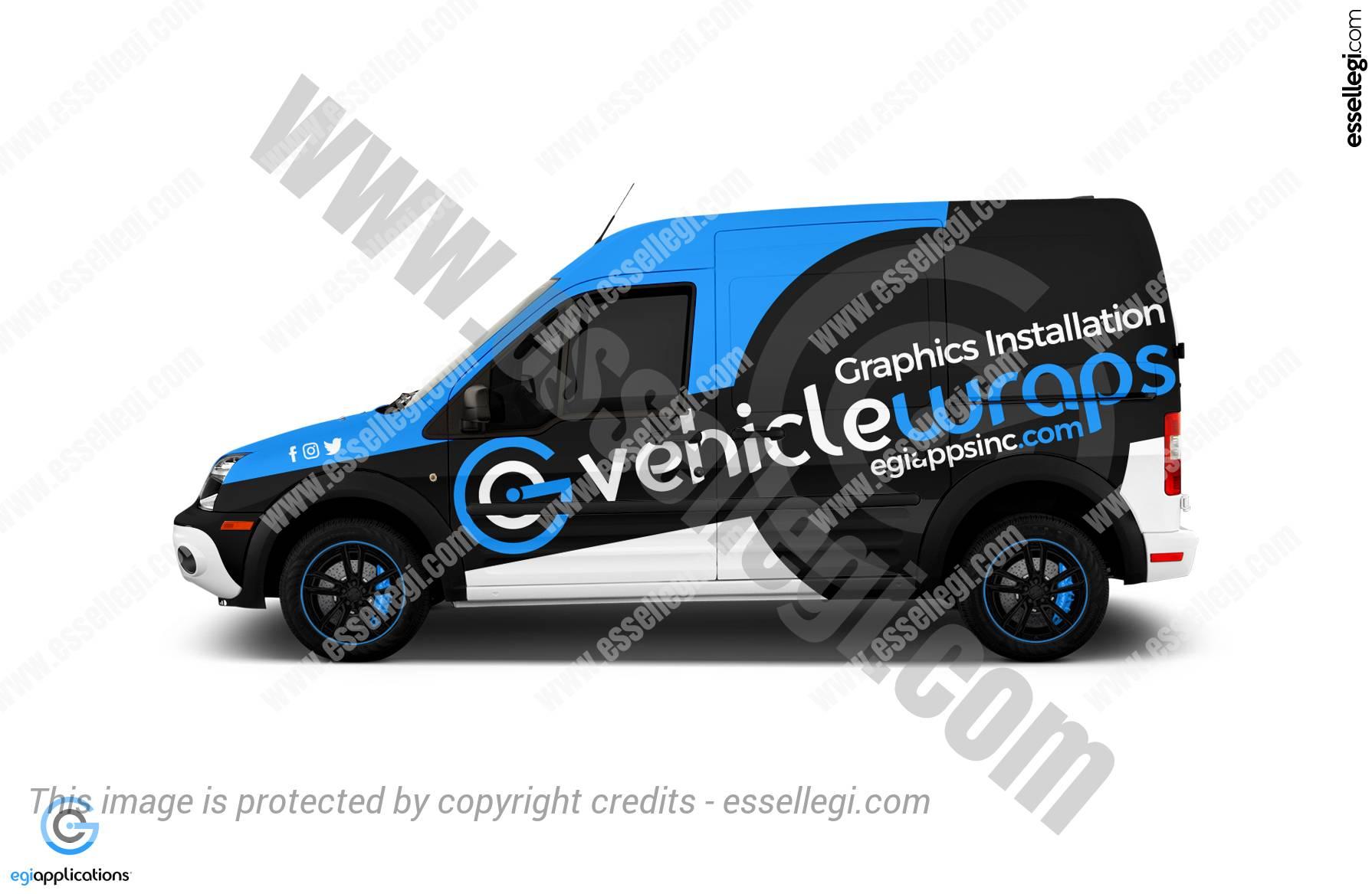 Ford Transit Connect Wrap. Ford Transit Connect | Van Wrap Design by Essellegi. Van Signs, Van Signage, Van Wrapping, Van Signwriting, Van Wrap Designer, Signs for Van, Van Logo, Van Graphic by Essellegi.