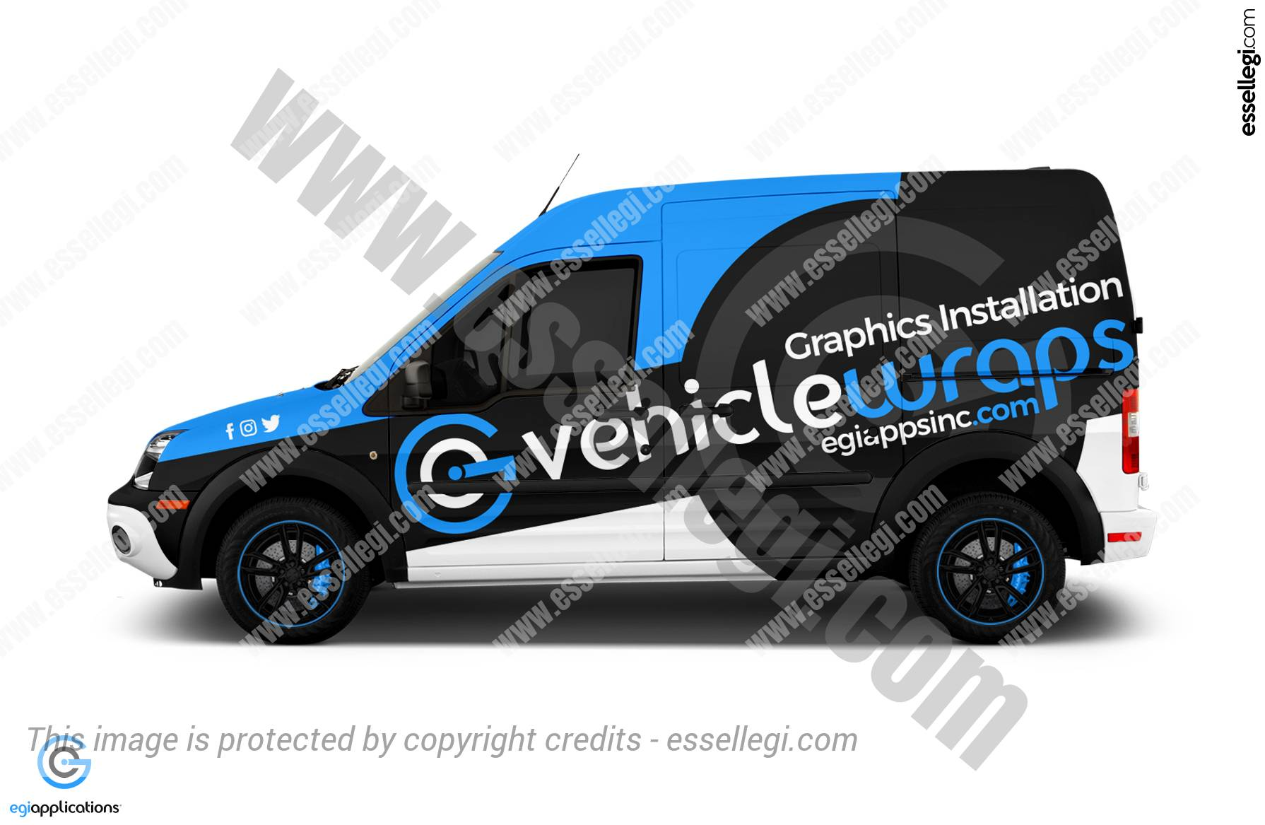 EGI APPLICATIONS | VAN WRAP DESIGN 🇺🇸