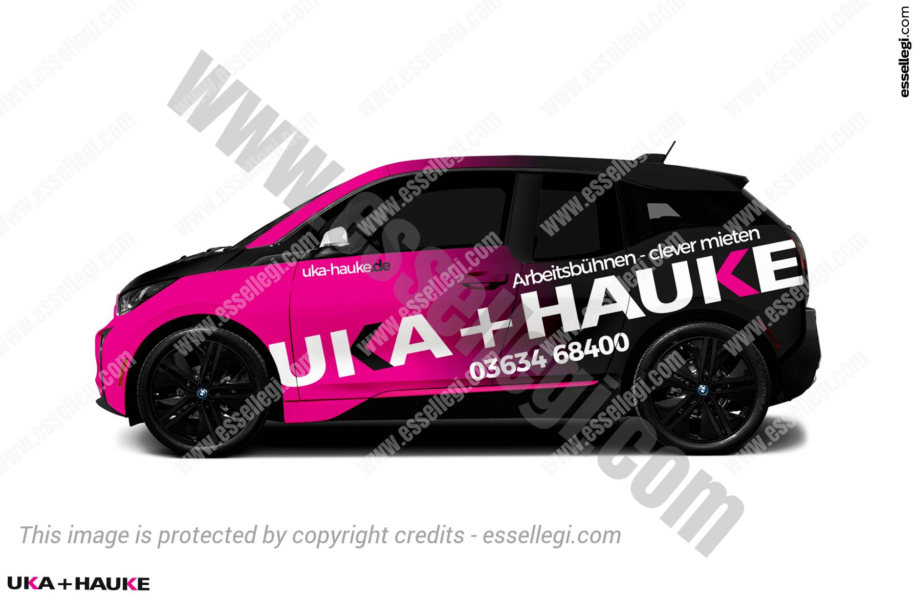 UKA+HAUKE | CAR WRAP DESIGN 🇩🇪