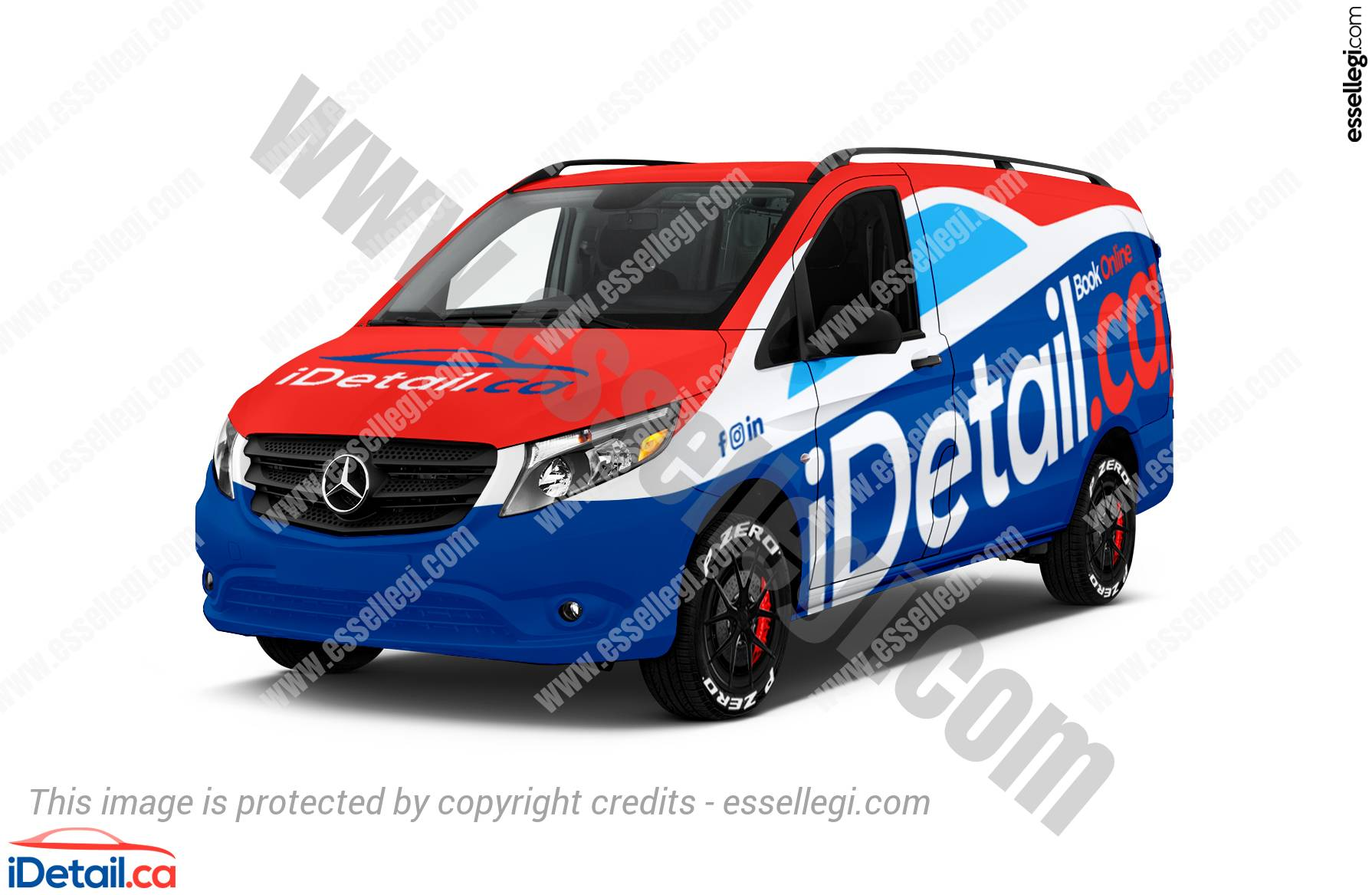 Mercedes Metris | Van Wrap Design by Essellegi Wrap Design