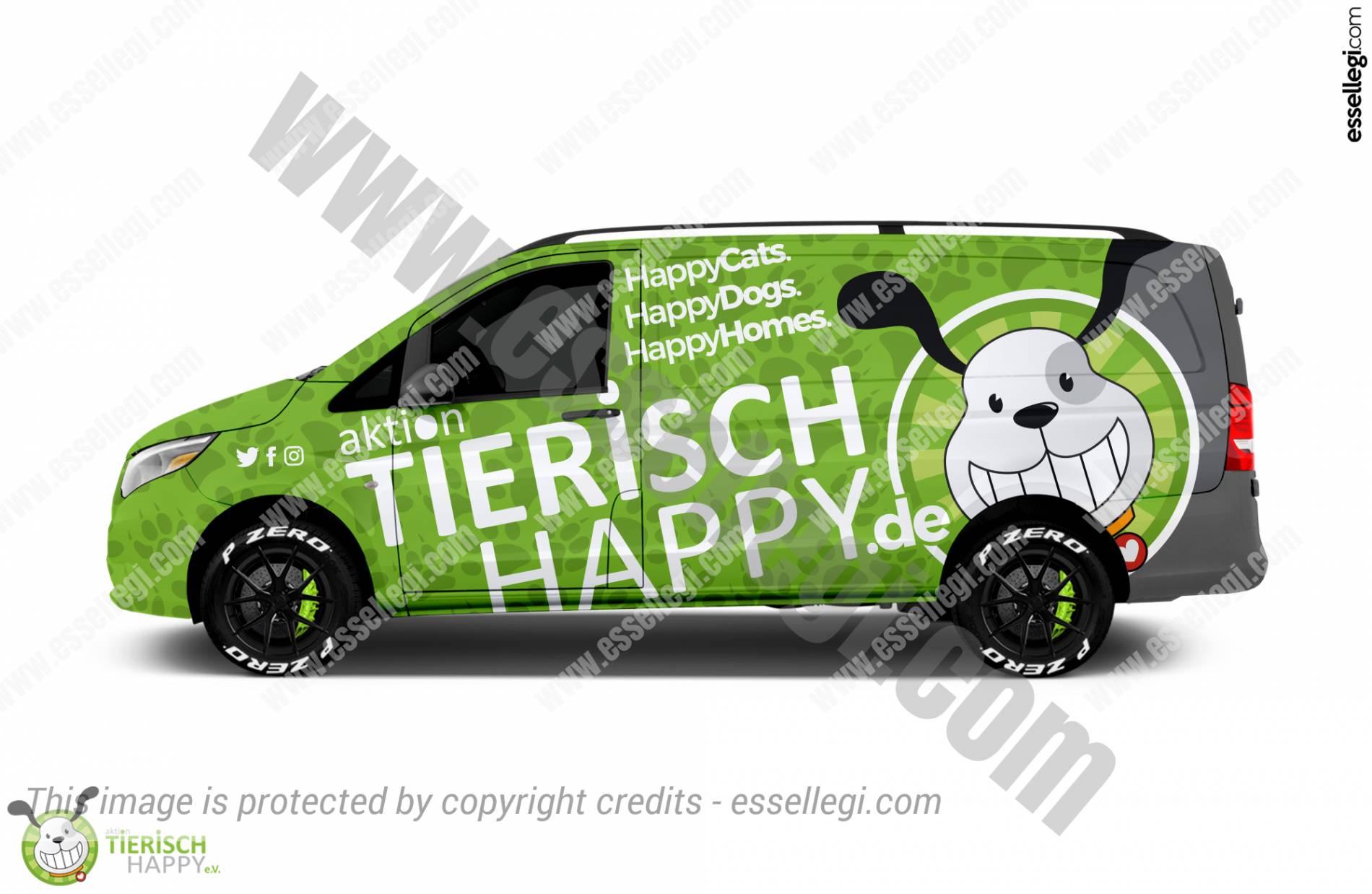 ACTION TIERISCH HAPPY | VAN WRAP DESIGN 🇩🇪