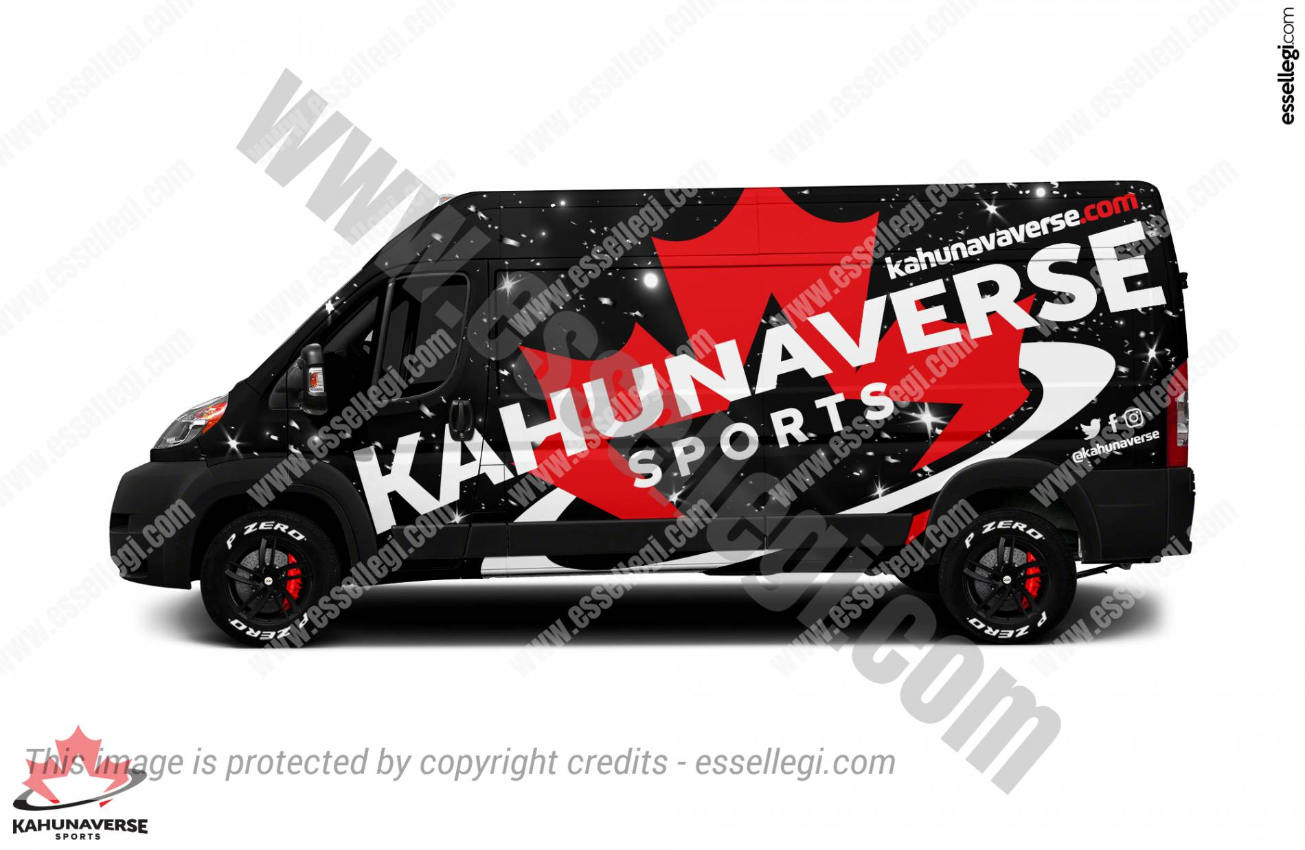 DODGE RAM PROMASTER 2500 | VAN WRAP DESIGN 🇨🇦