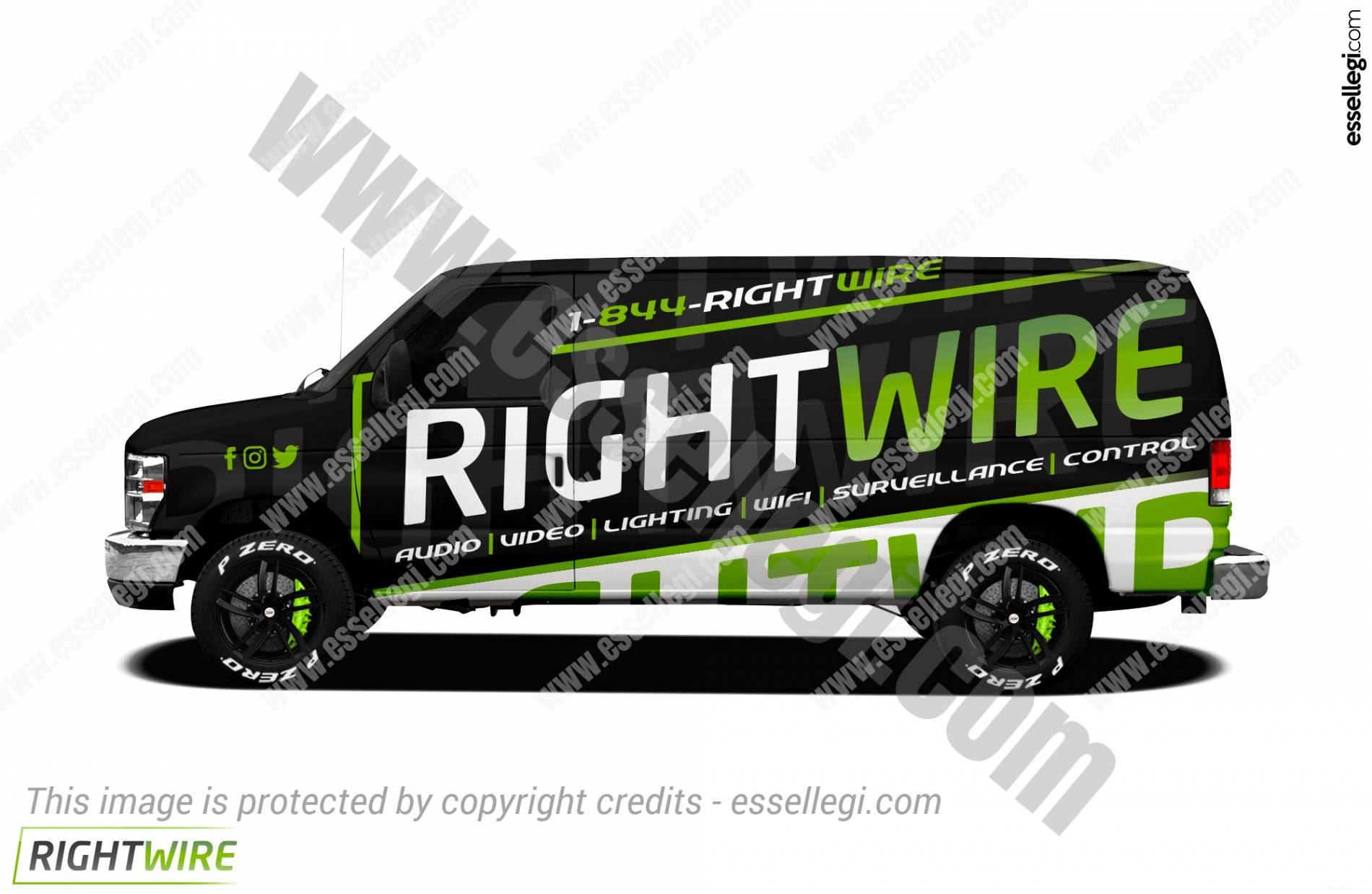 RIGHT WIRE | VAN WRAP DESIGN 🇺🇸