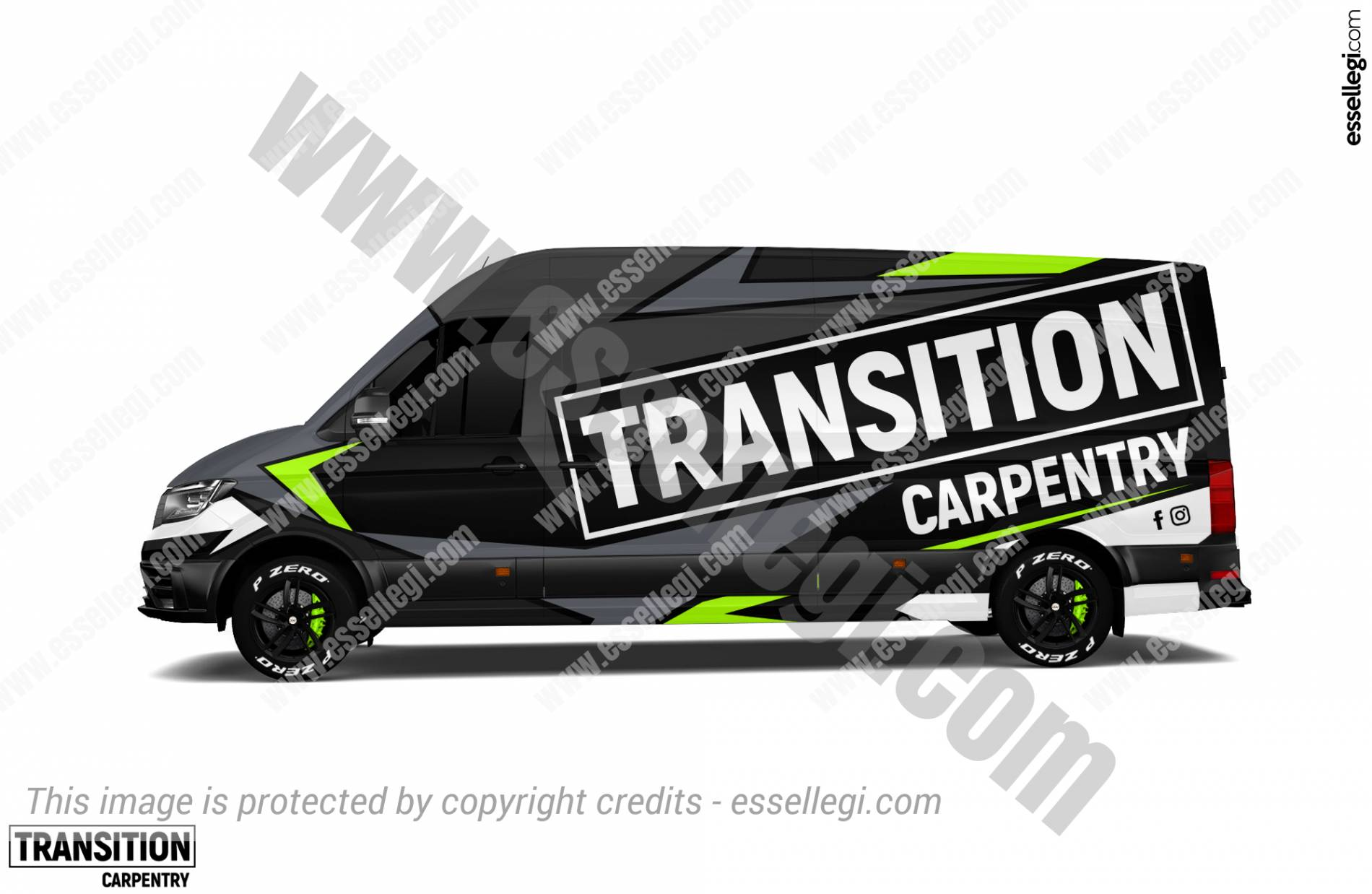 TRANSITION CARPENTRY | VAN WRAP DESIGN 🇦🇺