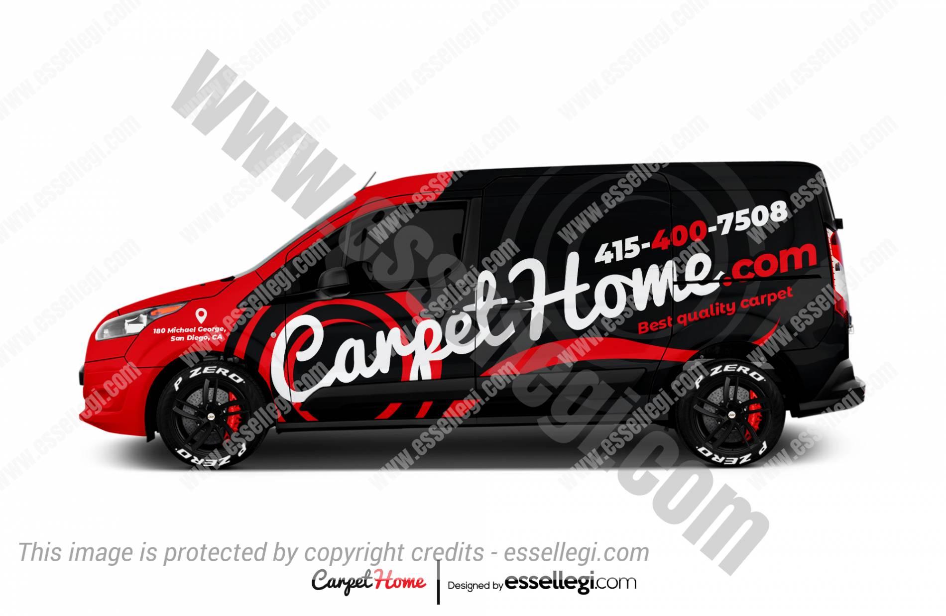 CARPET HOME | VAN WRAP DESIGN 🇺🇸