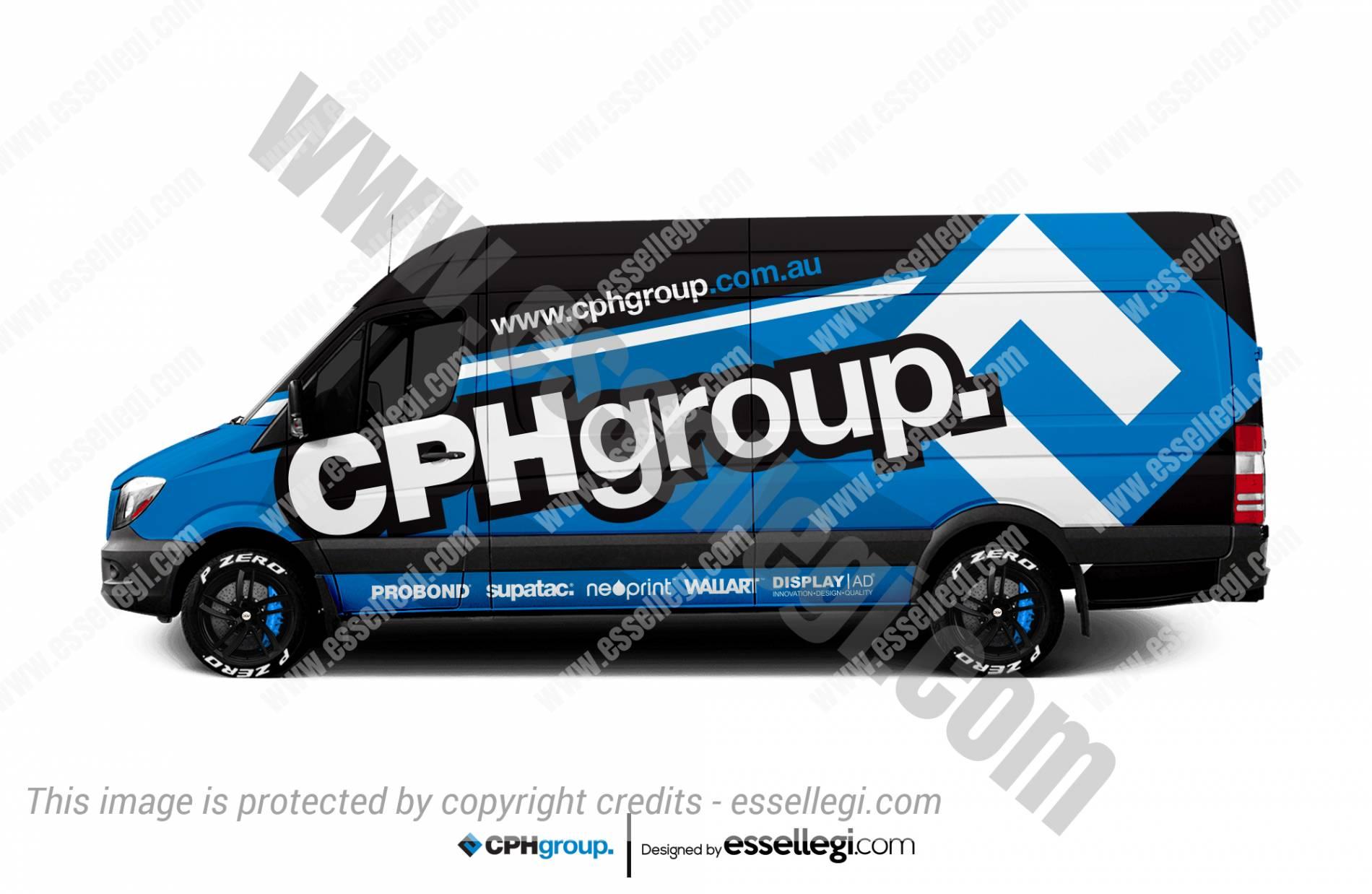 CPH GROUP | VAN WRAP DESIGN 🇦🇺
