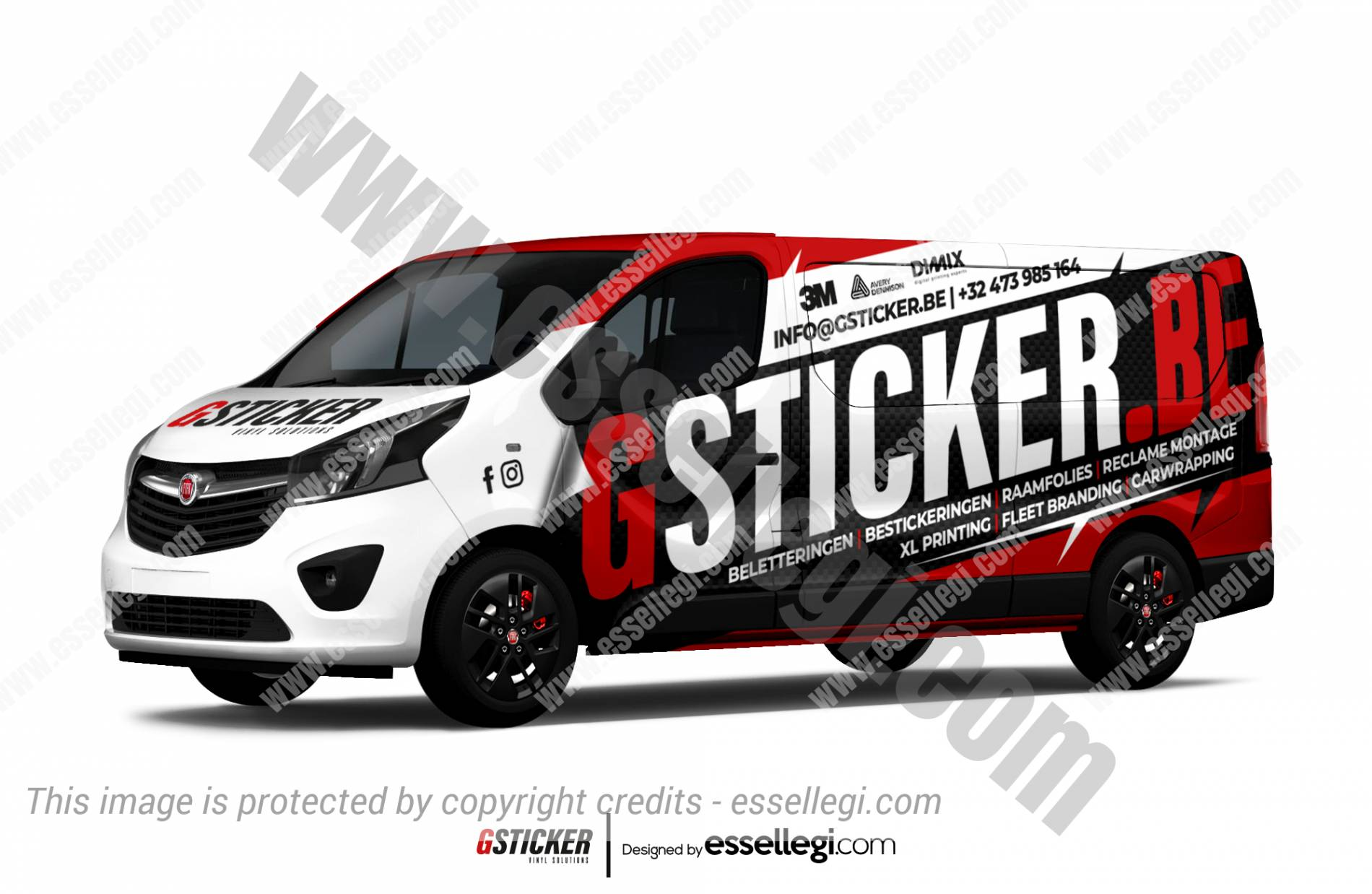 Fiat Talento Wrap Design. Fiat Talento | Van Wrap Design by Essellegi. Van Signs, Van Signage, Van Wrapping, Van Signwriting, Van Wrap Designer, Signs for Van, Van Logo, Van Graphic by Essellegi.