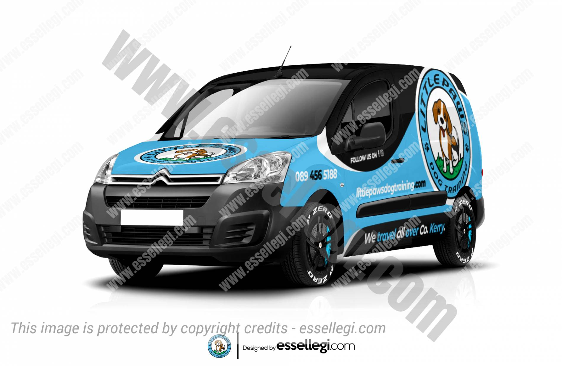 Citroen Berlingo Wrap Design. Citroen Berlingo | Van Wrap Design by Essellegi. Van Signs, Van Signage, Van Wrapping, Van Signwriting, Van Wrap Designer, Signs for Van, Van Logo, Van Graphic by Essellegi.