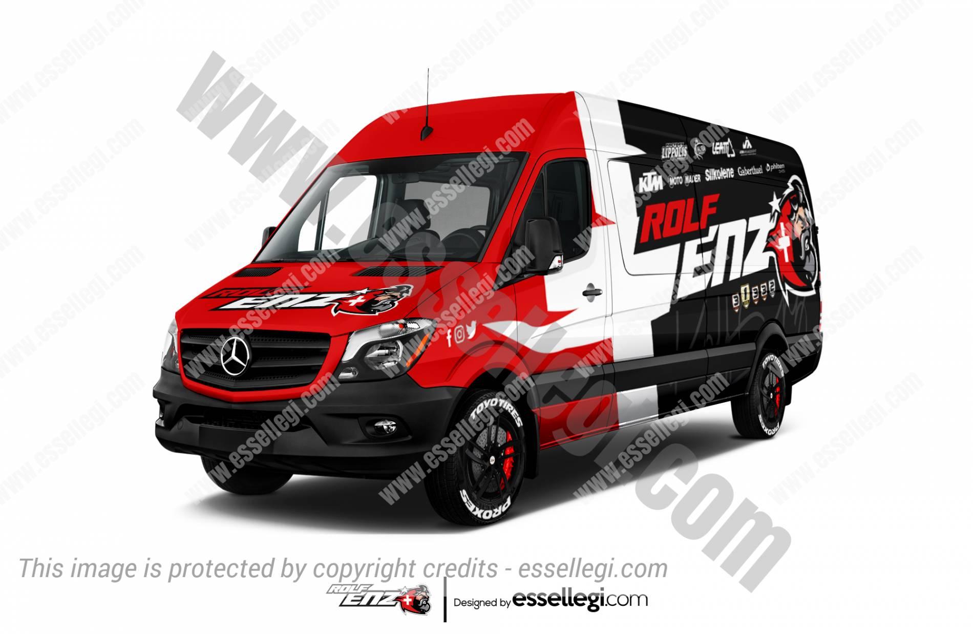 Mercedes Sprinter Wrap Design. Mercedes Sprinter | Van Wrap Design by Essellegi. Van Signs, Van Signage, Van Wrapping, Van Signwriting, Van Wrap Designer, Signs for Van, Van Logo, Van Graphic by Essellegi.