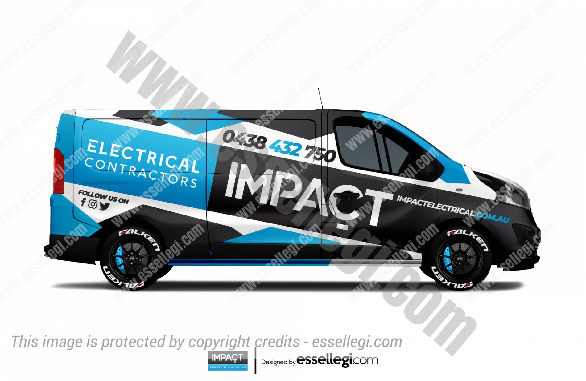Renault Trafic Wrap Design. Renault Trafic | Van Wrap Design by Essellegi. Van Signs, Van Signage, Van Wrapping, Van Signwriting, Van Wrap Designer, Signs for Van, Van Logo, Van Graphic by Essellegi.