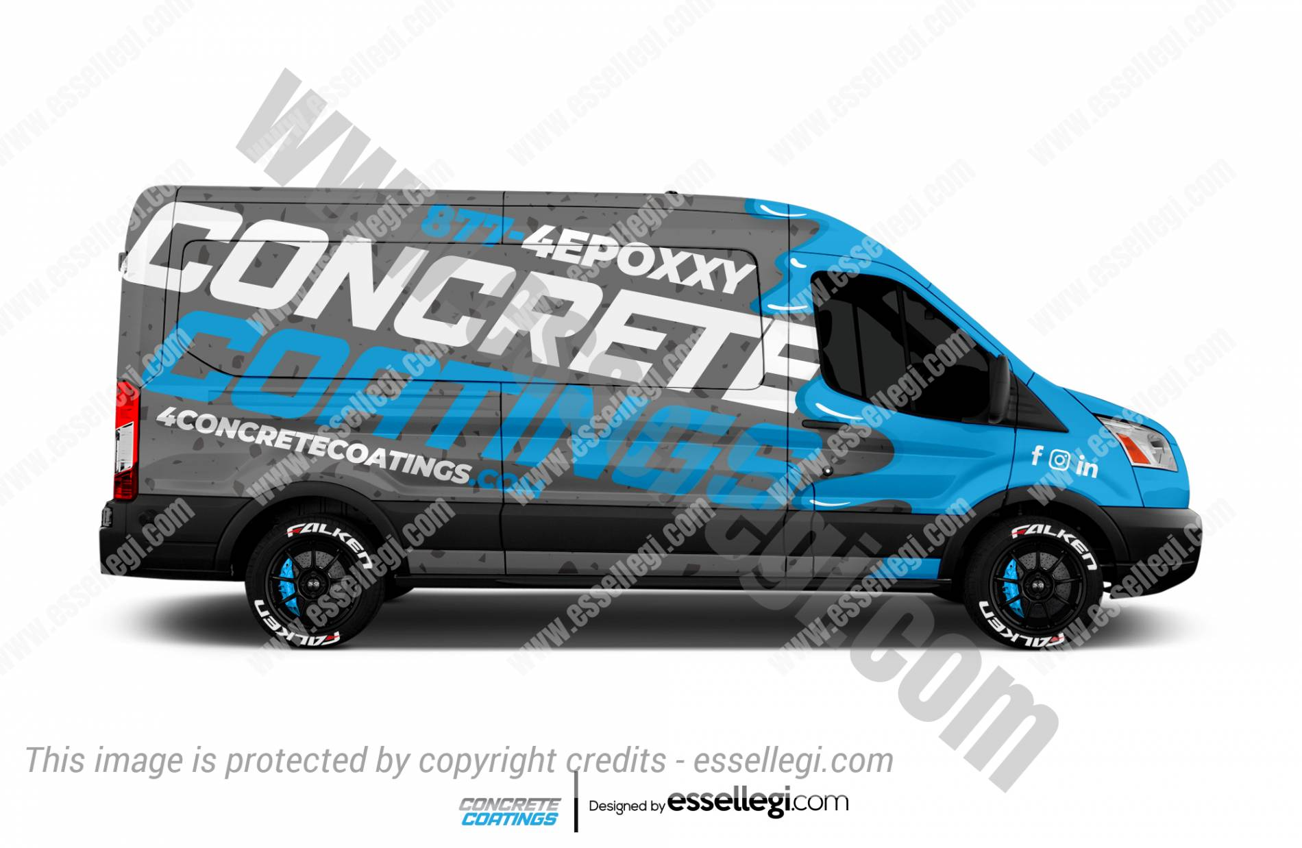 Ford Transit Wrap Design. Ford Transit | Van Wrap Design by Essellegi. Van Signs, Van Signage, Van Wrapping, Van Signwriting, Van Wrap Designer, Signs for Van, Van Logo, Van Graphic by Essellegi.