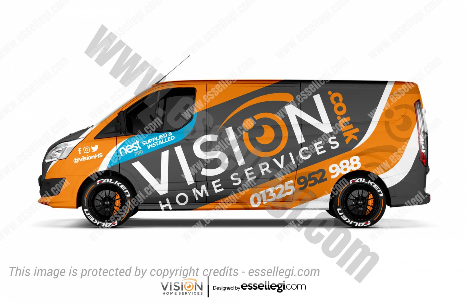 Ford Transit Custom Wrap Design. Ford Transit Custom | Van Wrap Design by Essellegi. Van Signs, Van Signage, Van Wrapping, Van Signwriting, Van Wrap Designer, Signs for Van, Van Logo, Van Graphic by Essellegi.