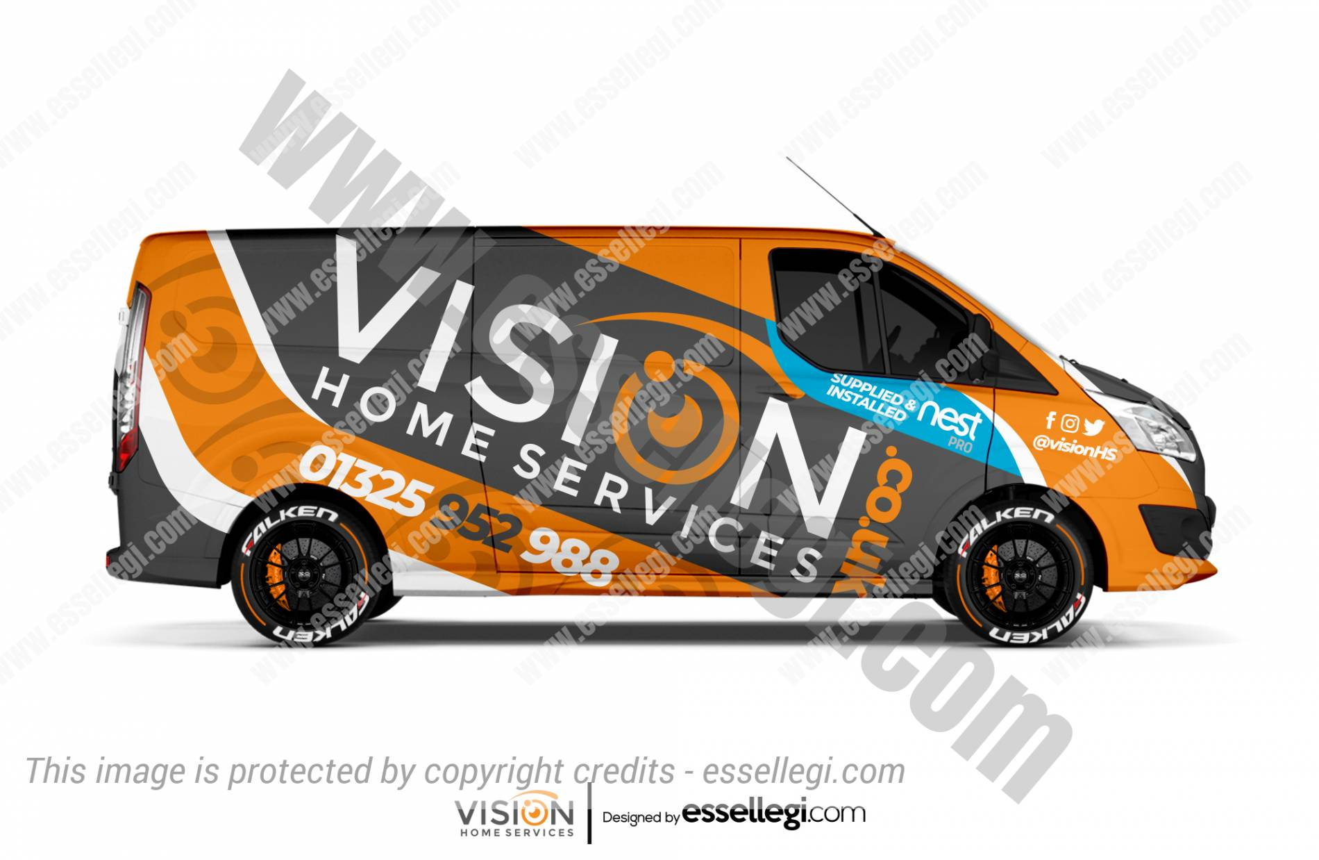 a46c852078 Are you looking for Best Transit Custom Van Wrap Design   Create yours!