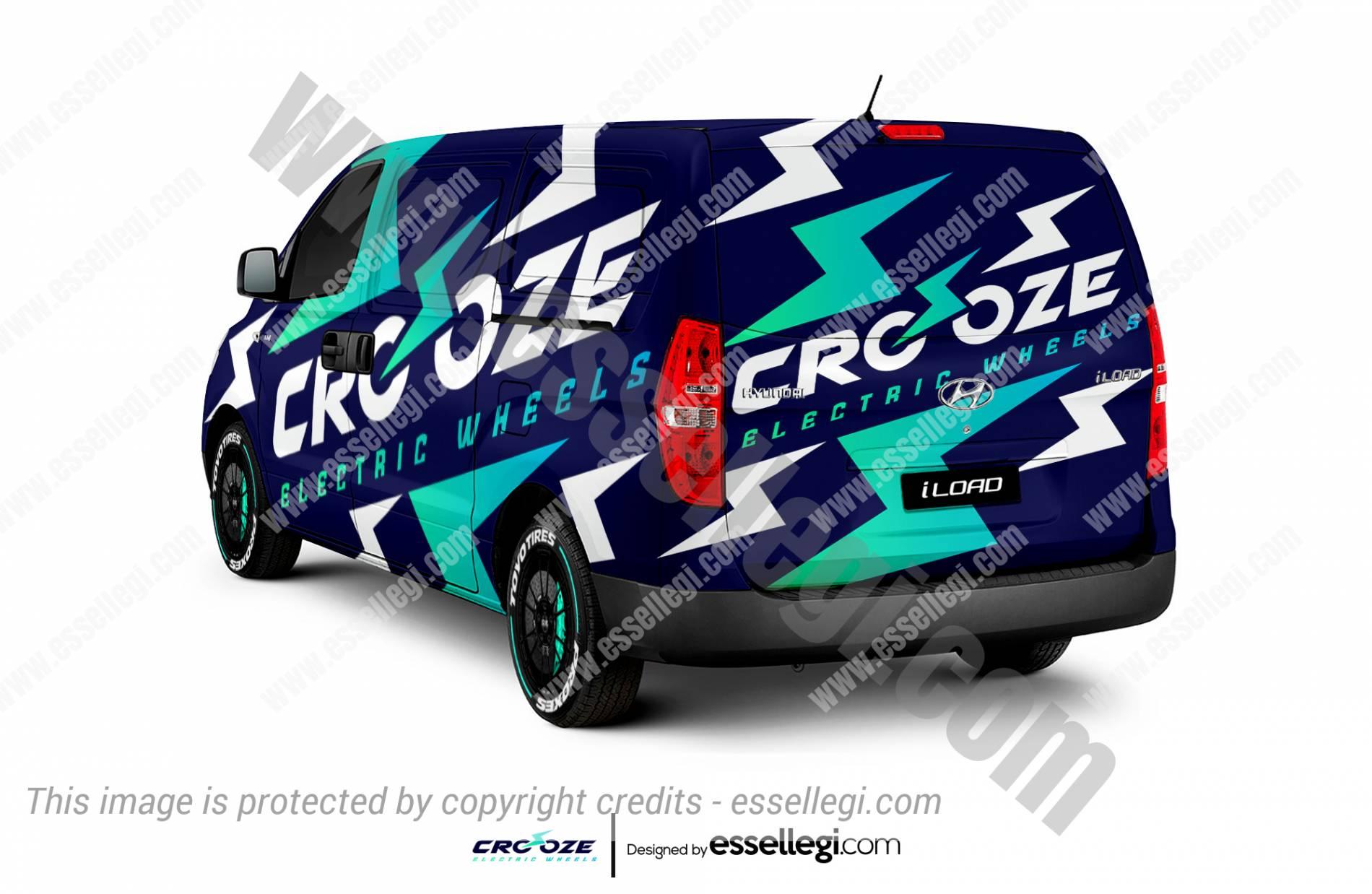 Hyundai iLoad Wrap Design. Hyundai iLoad | Van Wrap Design by Essellegi. Van Signs, Van Signage, Van Wrapping, Van Signwriting, Van Wrap Designer, Signs for Van, Van Logo, Van Graphic by Essellegi.
