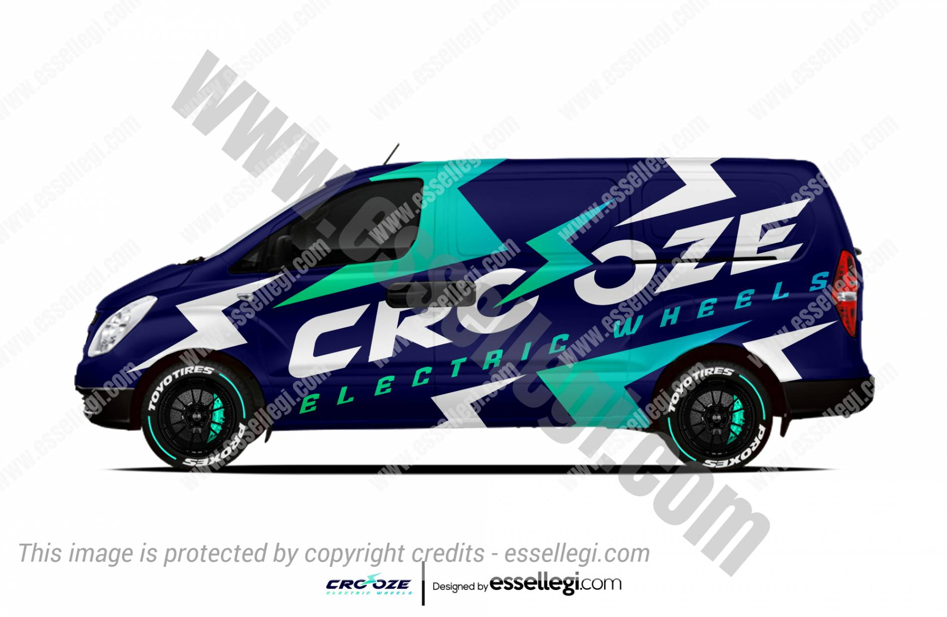 CROOZE | VAN WRAP DESIGN 🇦🇺