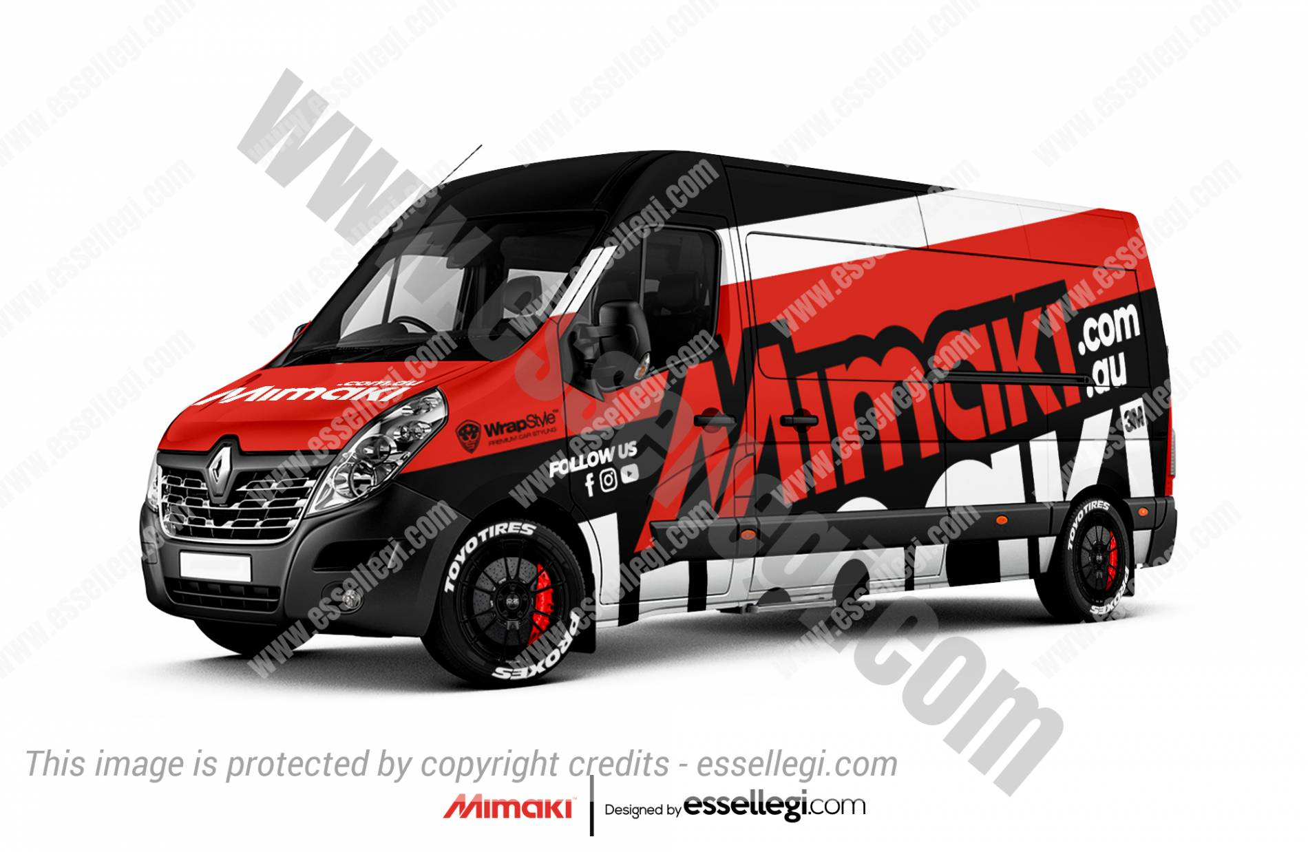 Renault Master Wrap Design. Renault Master | Van Wrap Design by Essellegi. Van Signs, Van Signage, Van Wrapping, Van Signwriting, Van Wrap Designer, Signs for Van, Van Logo, Van Graphic by Essellegi.