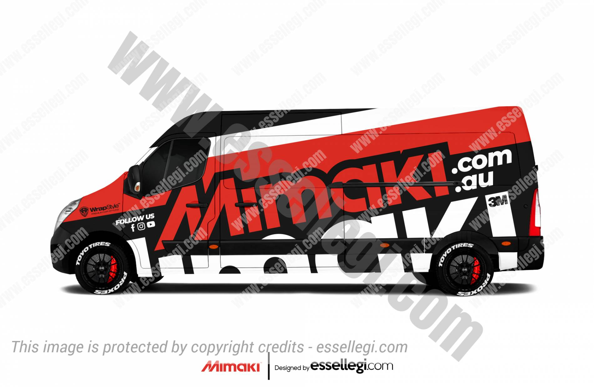 MIMAKI | VAN WRAP DESIGN 🇦🇺