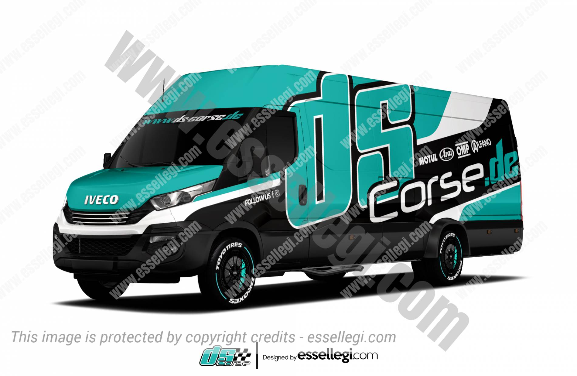 Iveco Daily Wrap Design. Iveco Daily | Van Wrap Design by Essellegi. Van Signs, Van Signage, Van Wrapping, Van Signwriting, Van Wrap Designer, Signs for Van, Van Logo, Van Graphic by Essellegi.