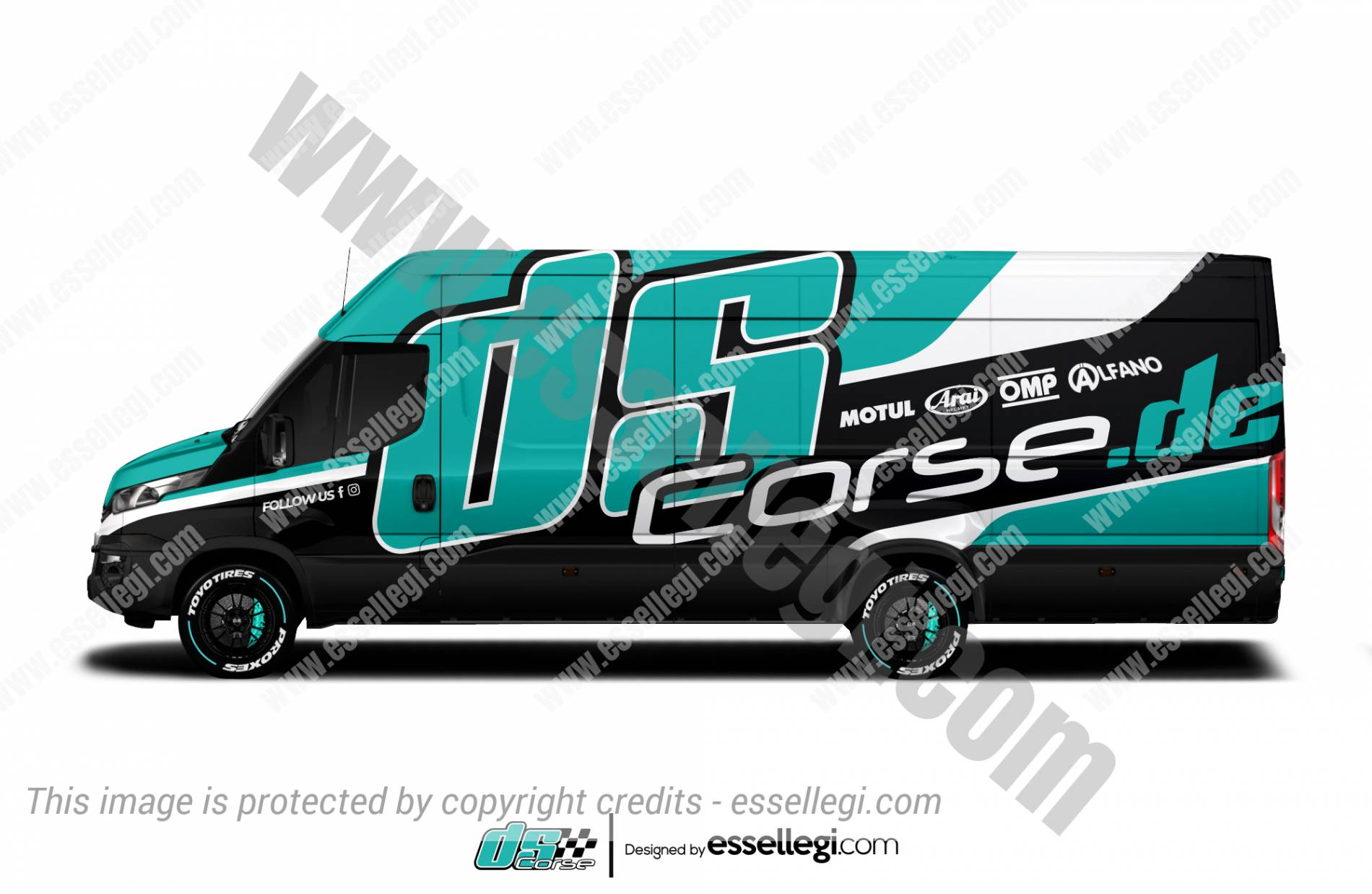 DS CORSE | VAN WRAP DESIGN 🇩🇪