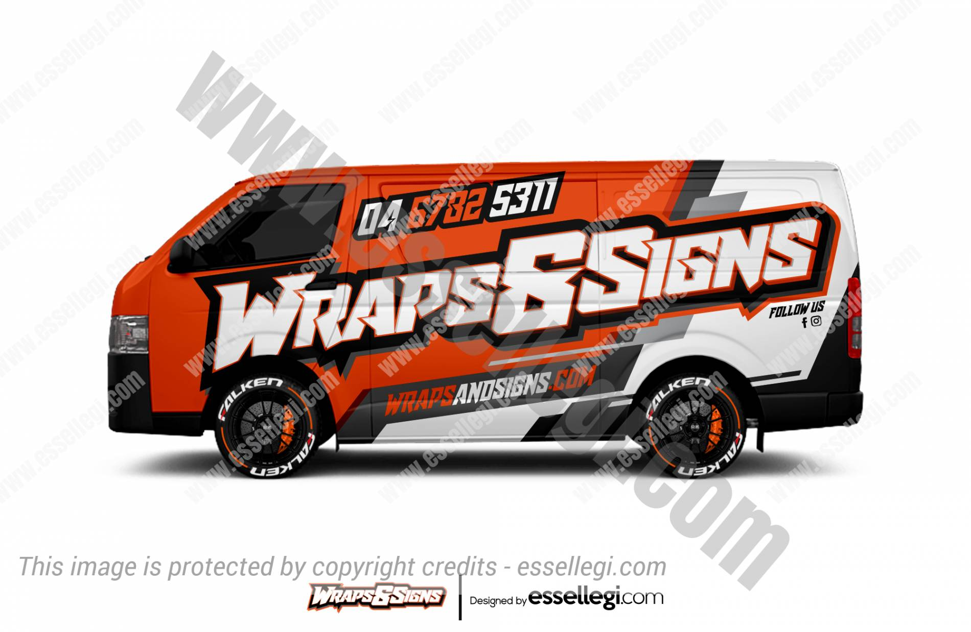 WRAPS & SIGNS | VAN WRAP DESIGN 🇺🇸