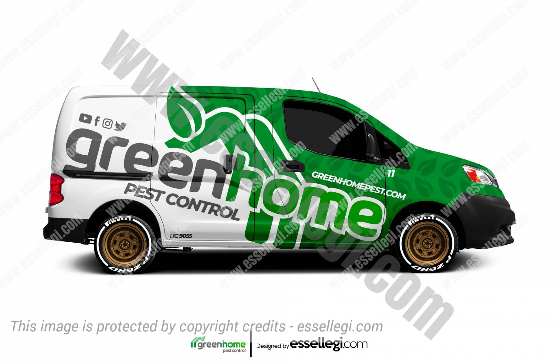 Nissan NV200 Wrap Design. Nissan NV200 | Van Wrap Design by Essellegi. Van Signs, Van Signage, Van Wrapping, Van Signwriting, Van Wrap Designer, Signs for Van, Van Logo, Van Graphic by Essellegi.