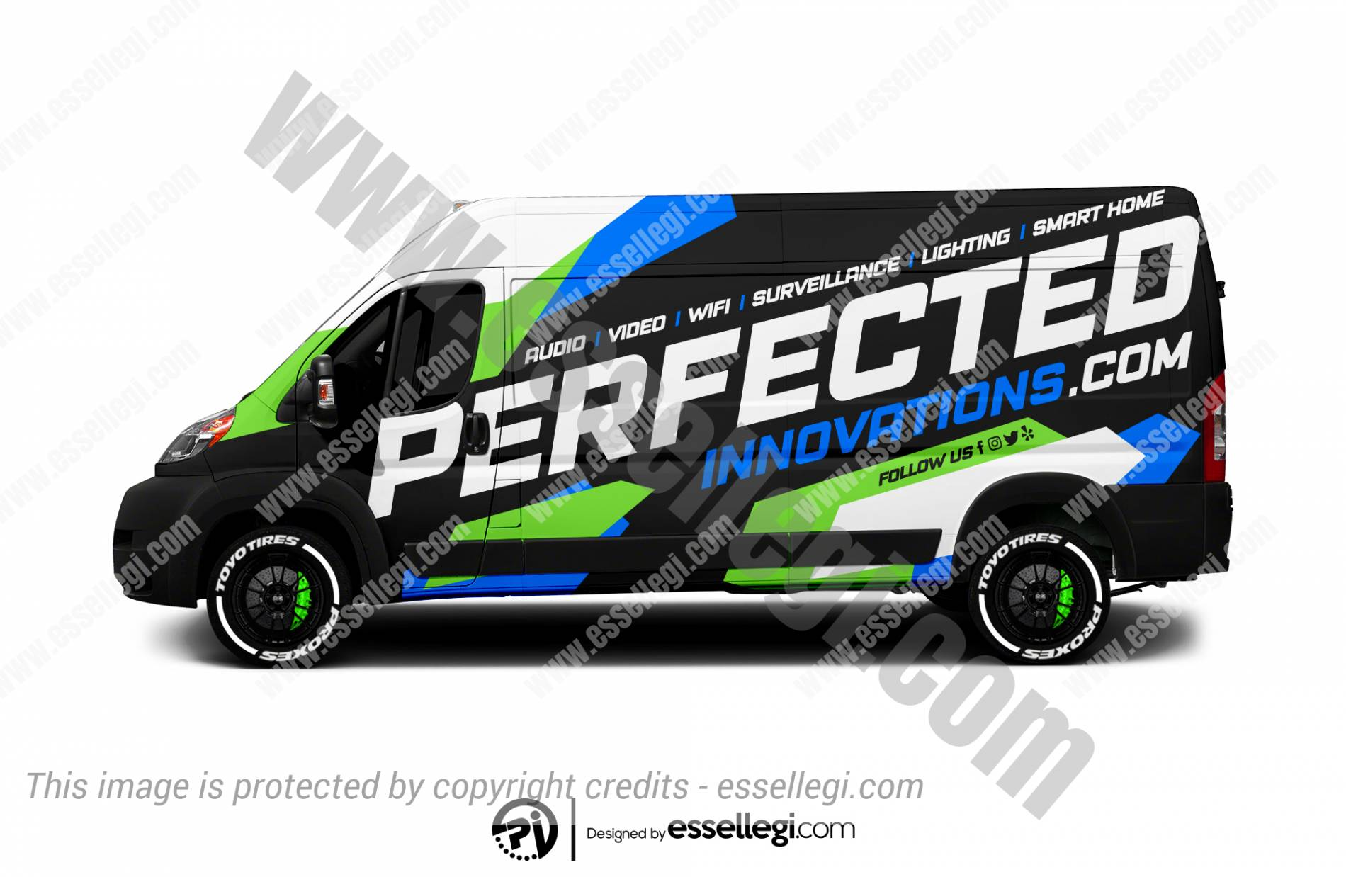 PERFECTED INNOVATIONS | VAN WRAP DESIGN 🇺🇸