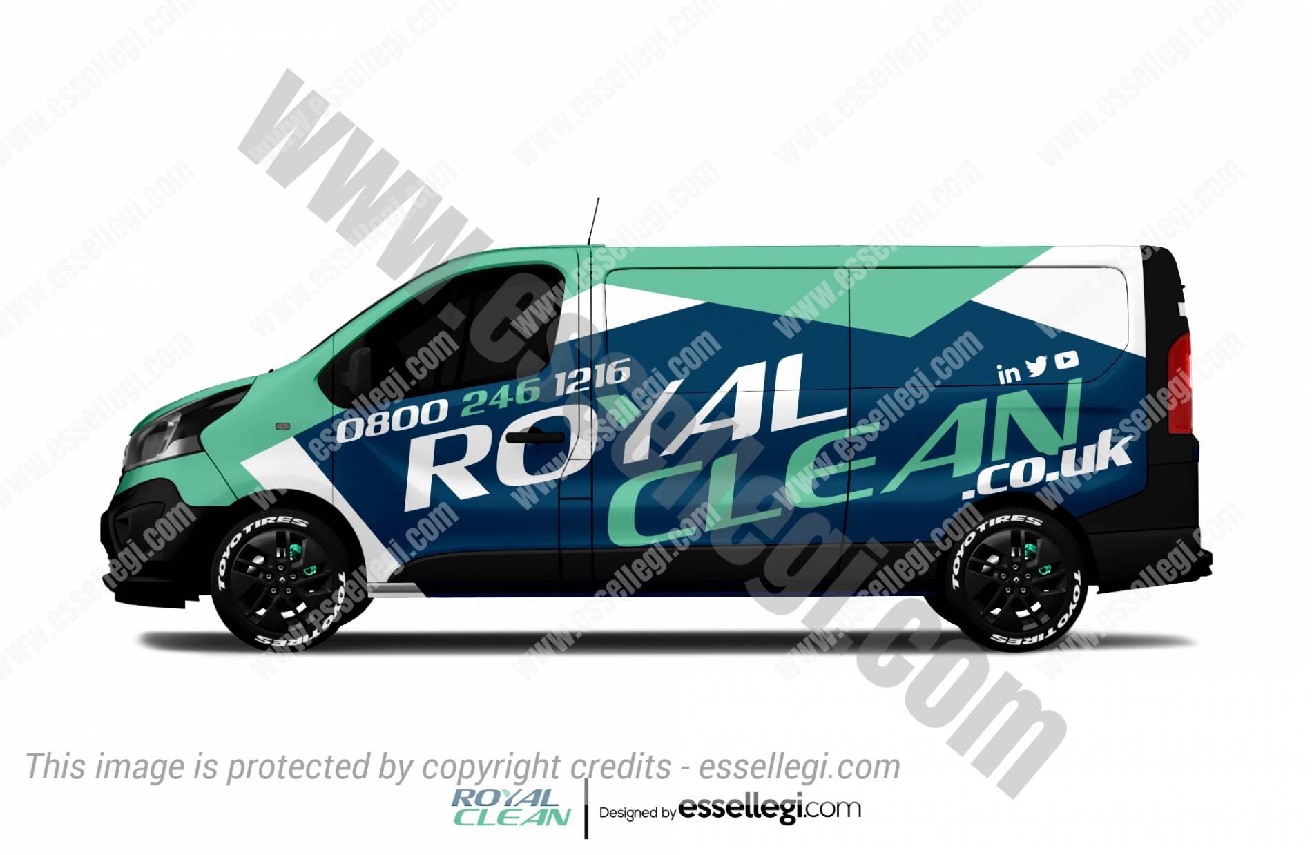 ROYAL CLEAN | VAN WRAP DESIGN 🇬🇧
