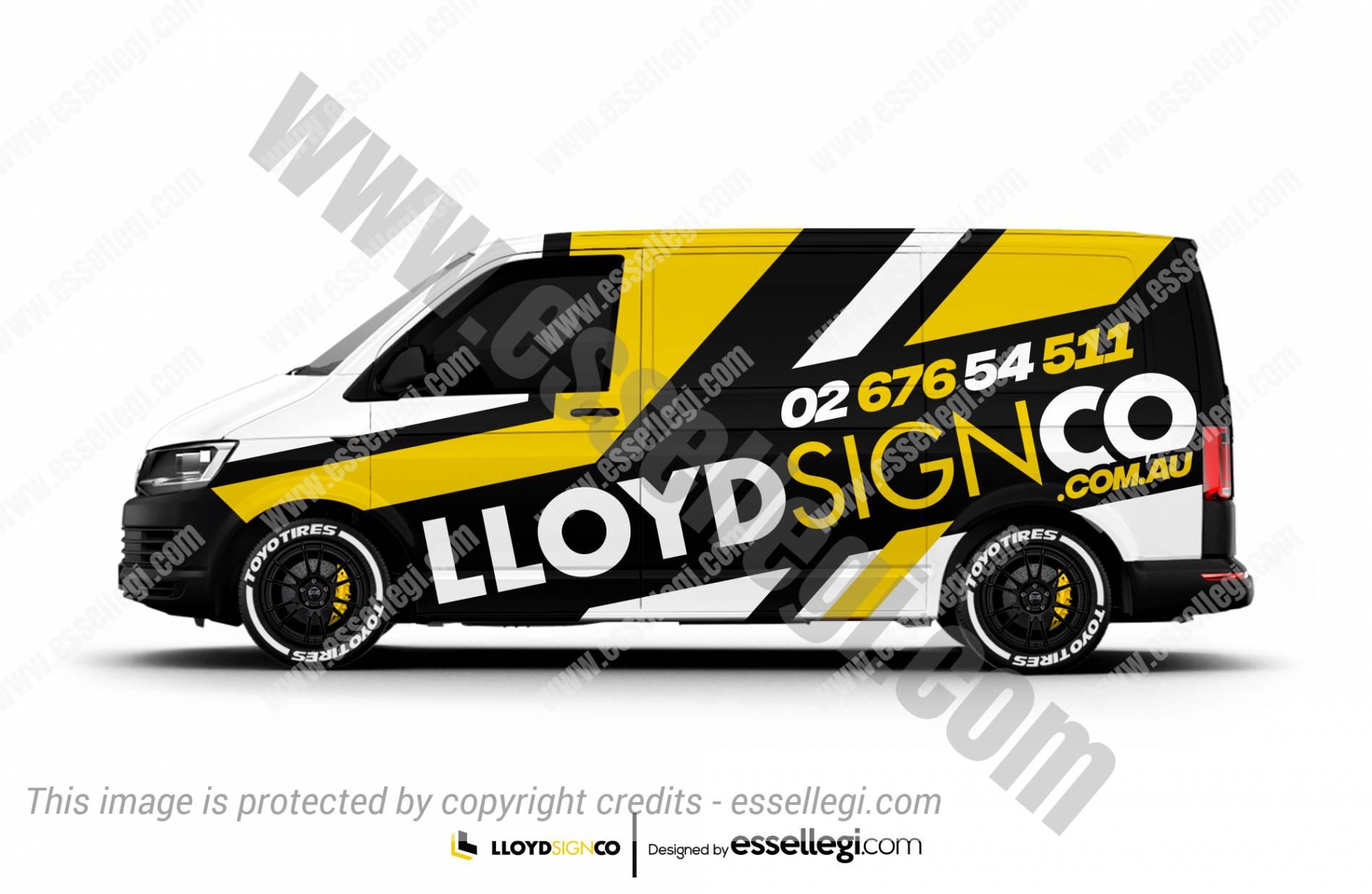 LLOYD SIGN CO. | VAN WRAP DESIGN 🇦🇺