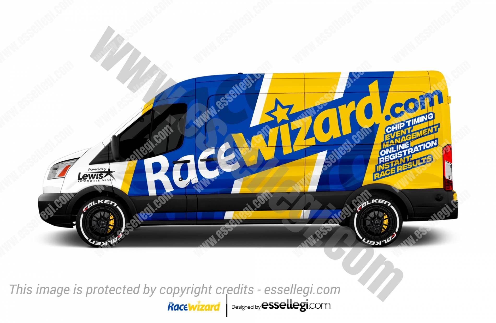 RACE WIZARD | VAN WRAP DESIGN 🇺🇸