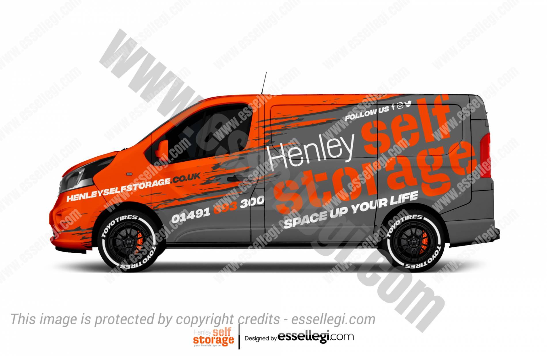HENLEY SELF STORAGE | VAN WRAP DESIGN 🇬🇧