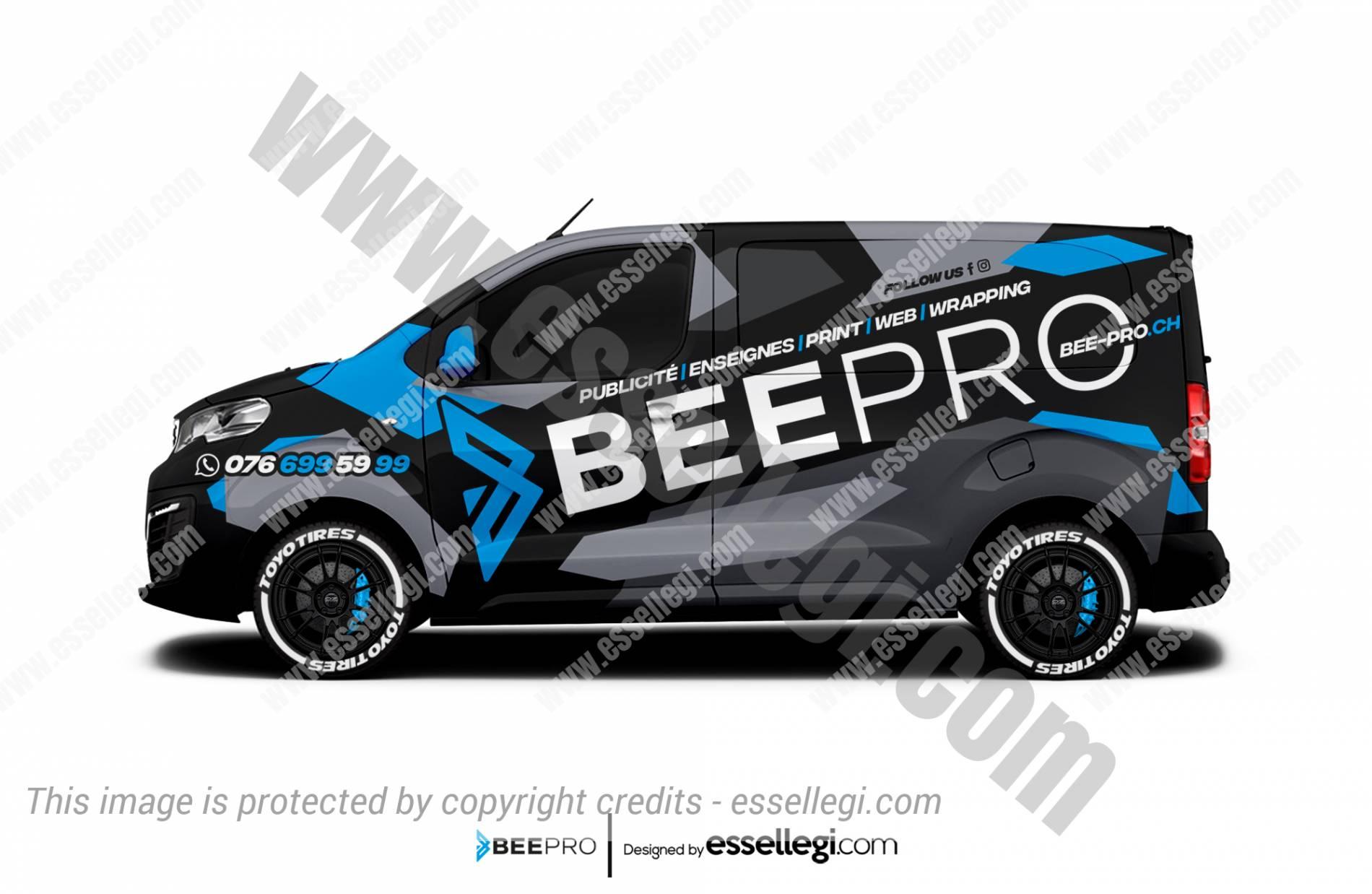 BEEPRO | VAN WRAP DESIGN 🇨🇭