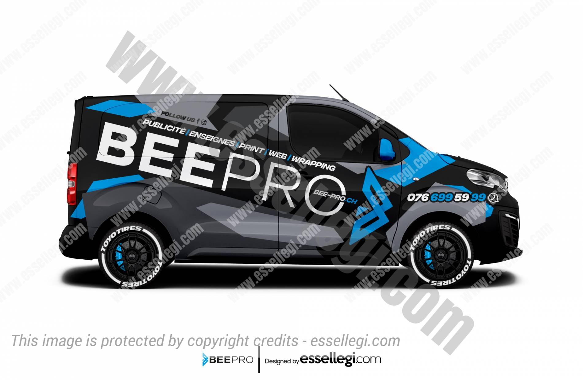 Peugeot Expert Wrap Design. Peugeot Expert Wrap | Van Wrap Design by Essellegi. Van Signs, Van Signage, Van Wrapping, Van Signwriting, Van Wrap Designer, Signs for Van, Van Logo, Van Graphic by Essellegi.