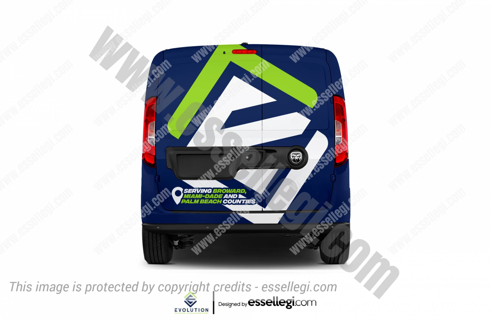 Dodge RAM ProMaster City Wrap Design. Dodge RAM ProMaster City Wrap | Van Wrap Design by Essellegi. Van Signs, Van Signage, Van Wrapping, Van Signwriting, Van Wrap Designer, Signs for Van, Van Logo, Van Graphic by Essellegi.