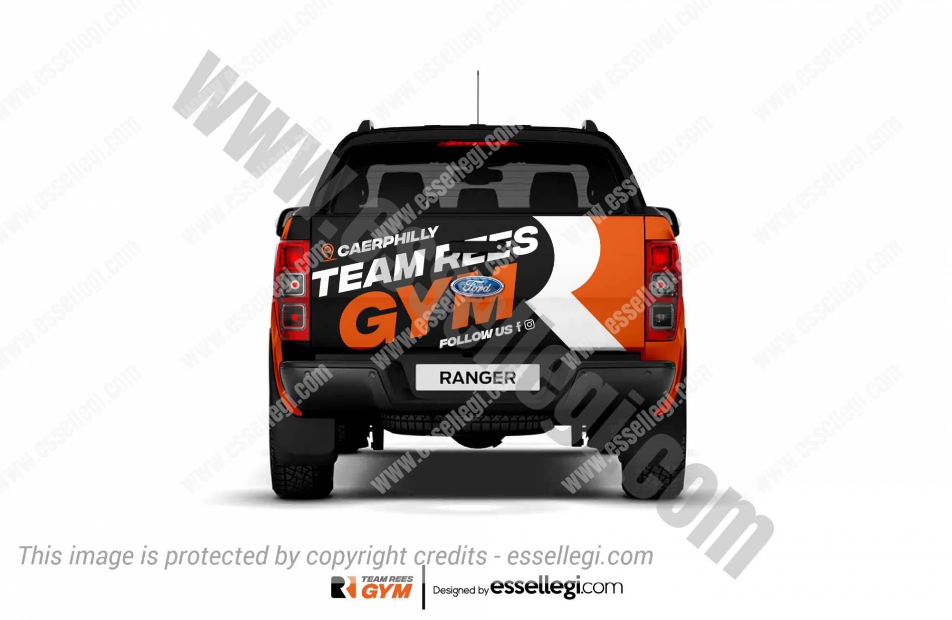 Ford Ranger Wrap Design. Ford Ranger Wrap | Van Wrap Design by Essellegi. Van Signs, Van Signage, Van Wrapping, Van Signwriting, Van Wrap Designer, Signs for Van, Van Logo, Van Graphic by Essellegi.