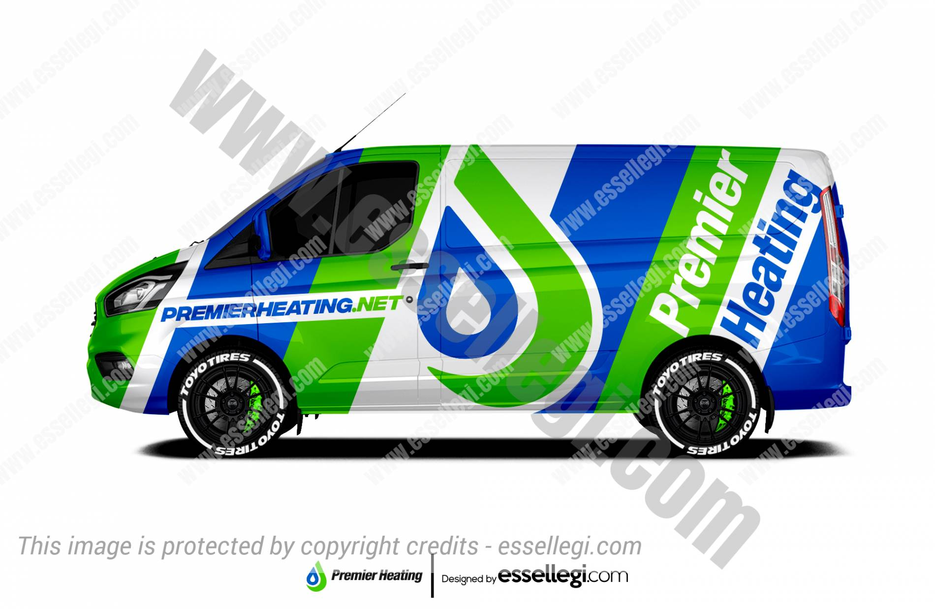 Ford Transit Custom Wrap Design. Ford Transit Custom Wrap | Van Wrap Design by Essellegi. Van Signs, Van Signage, Van Wrapping, Van Signwriting, Van Wrap Designer, Signs for Van, Van Logo, Van Graphic by Essellegi.