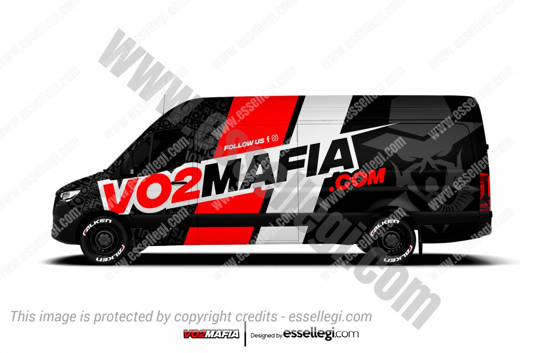 VO2 MAFIA | VAN WRAP DESIGN 🇺🇸
