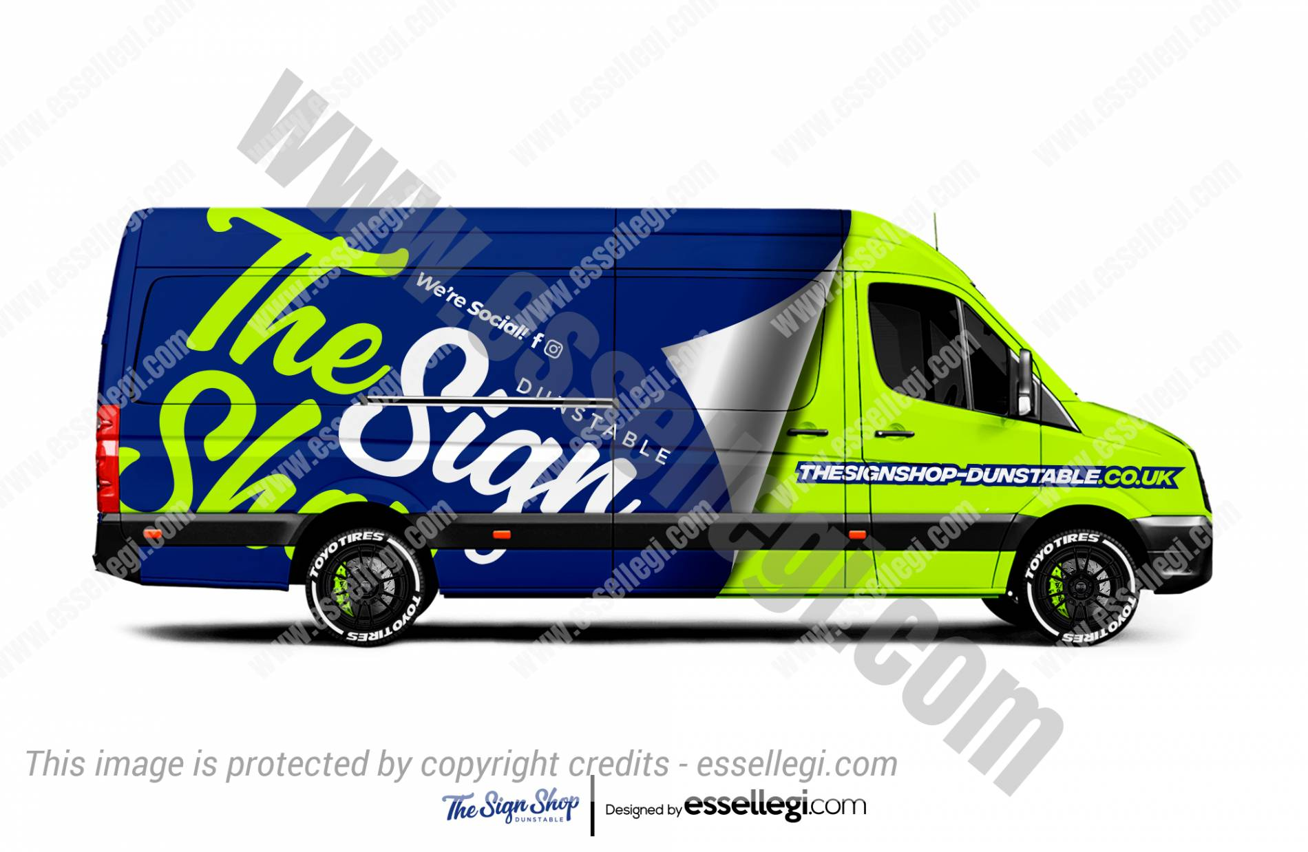 VW Crafter Wrap Design. VW Crafter Custom Wrap | Van Wrap Design by Essellegi. Van Signs, Van Signage, Van Wrapping, Van Signwriting, Van Wrap Designer, Signs for Van, Van Logo, Van Graphic by Essellegi.