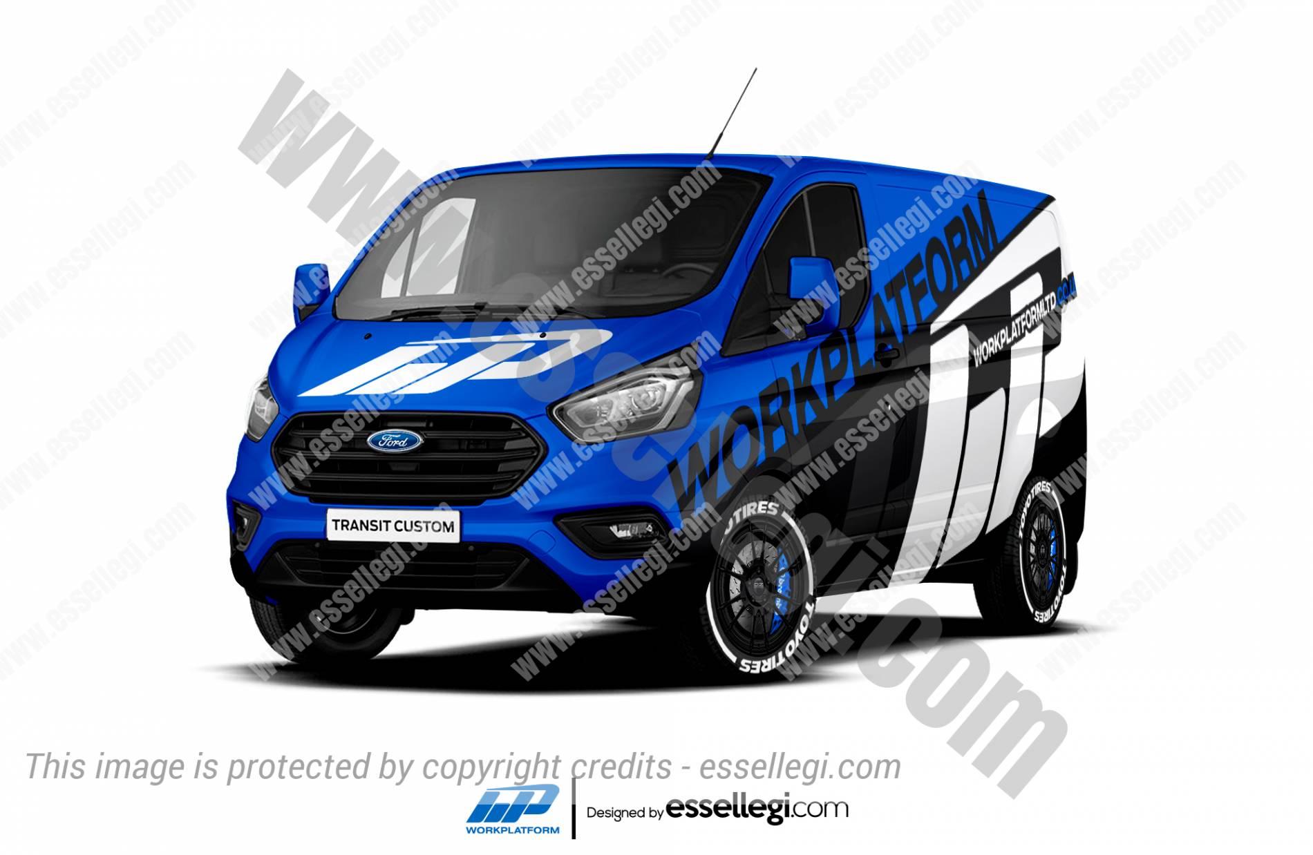 Ford Transit Custom Wrap Design. Ford Transit Custom Wrap | Van Wrap Design by Essellegi. Van Signs, Van Signage, Van Wrapping, Van Signwriting, Van Wrap Designer, Signs for Van, Van Logo, Van Graphic by Essellegi.
