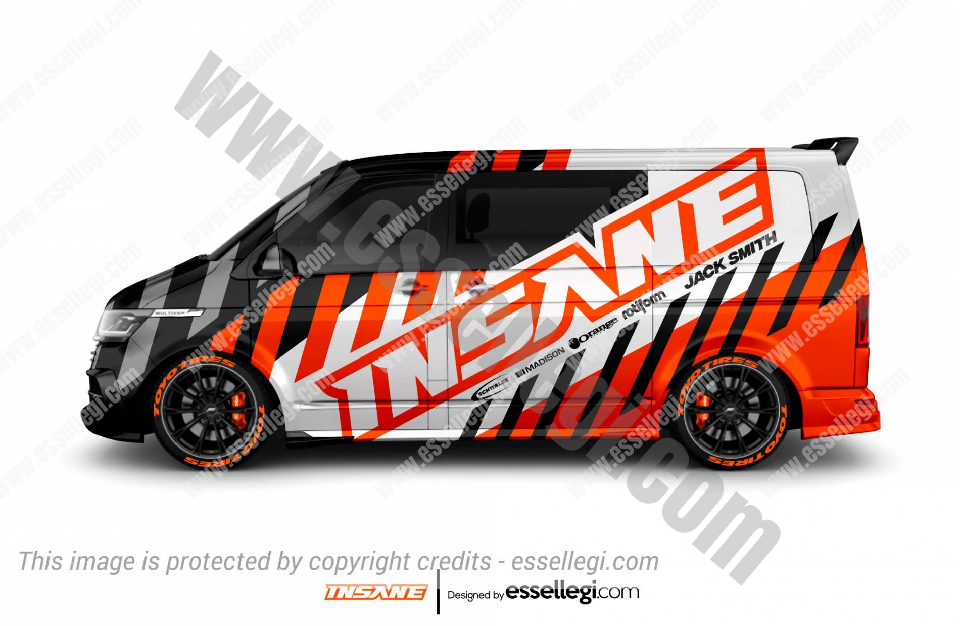 VW Transporter Wrap Design. VW Transporter Wrap | Van Wrap Design by Essellegi. Van Signs, Van Signage, Van Wrapping, Van Signwriting, Van Wrap Designer, Signs for Van, Van Logo, Van Graphic by Essellegi.