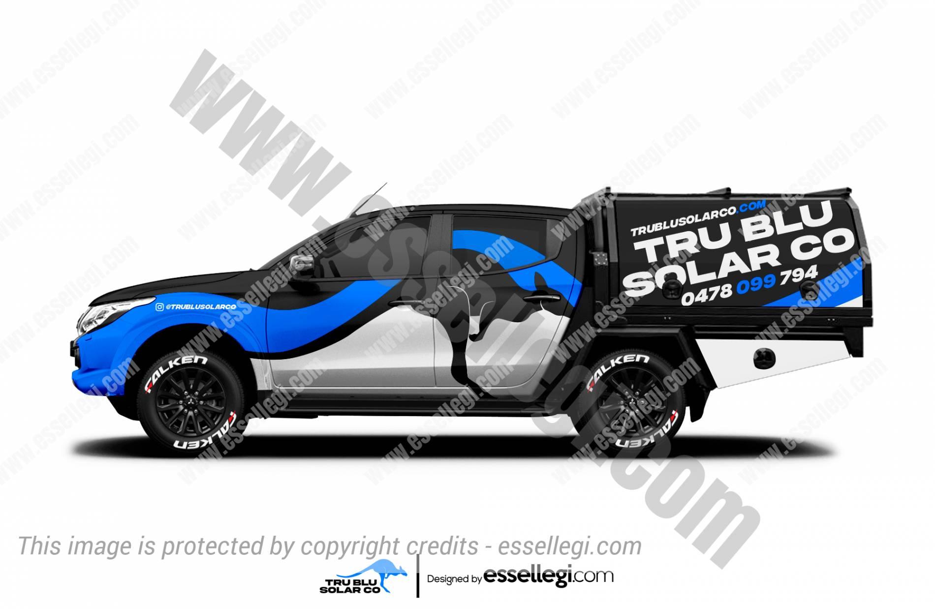 Mitsubishi L200 Triton Wrap Design. Mitsubishi L200 Triton Wrap | Truck Wrap Design by Essellegi. Truck Signs, Van Signage, Van Wrapping, Van Signwriting, Van Wrap Designer, Signs for Van, Van Logo, Van Graphic by Essellegi.