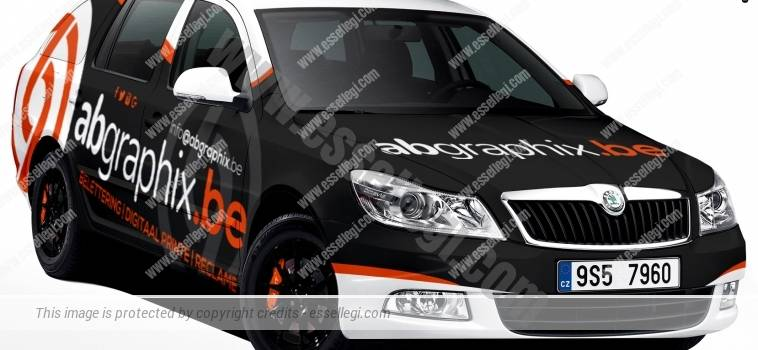 SKODA OCTAVIA | CAR WRAP DESIGN