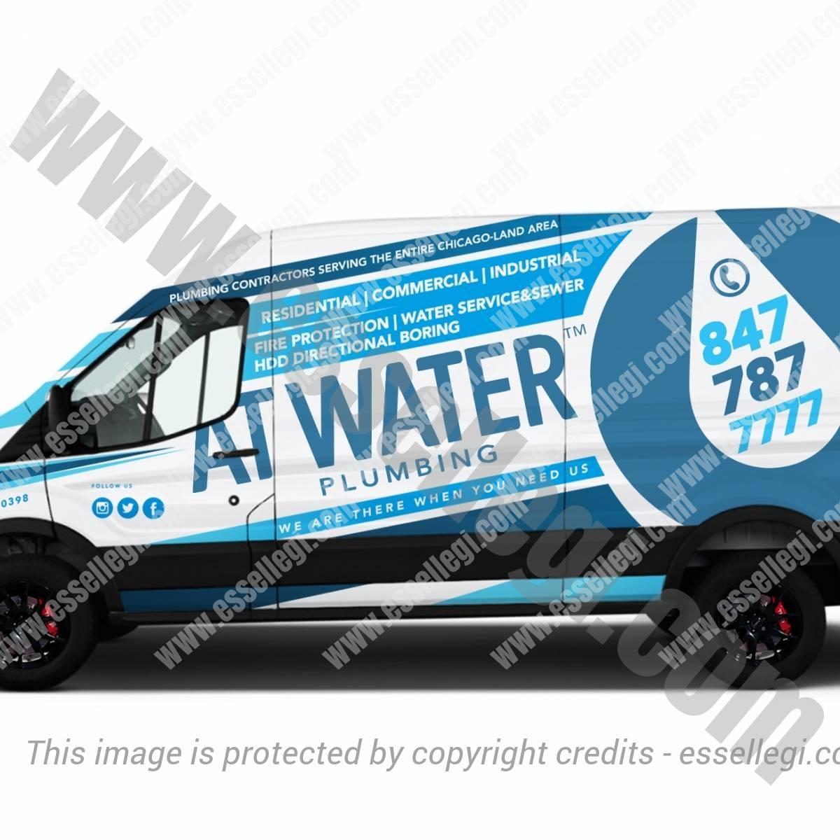 AT WATER | VAN WRAP DESIGN 🇺🇸