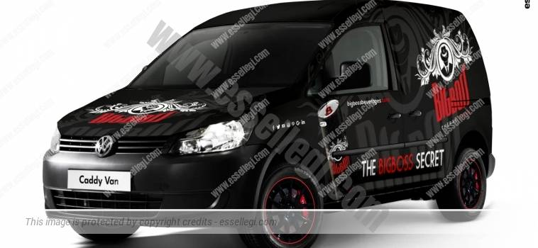 VOLKSWAGEN CADDY | VAN WRAP DESIGN
