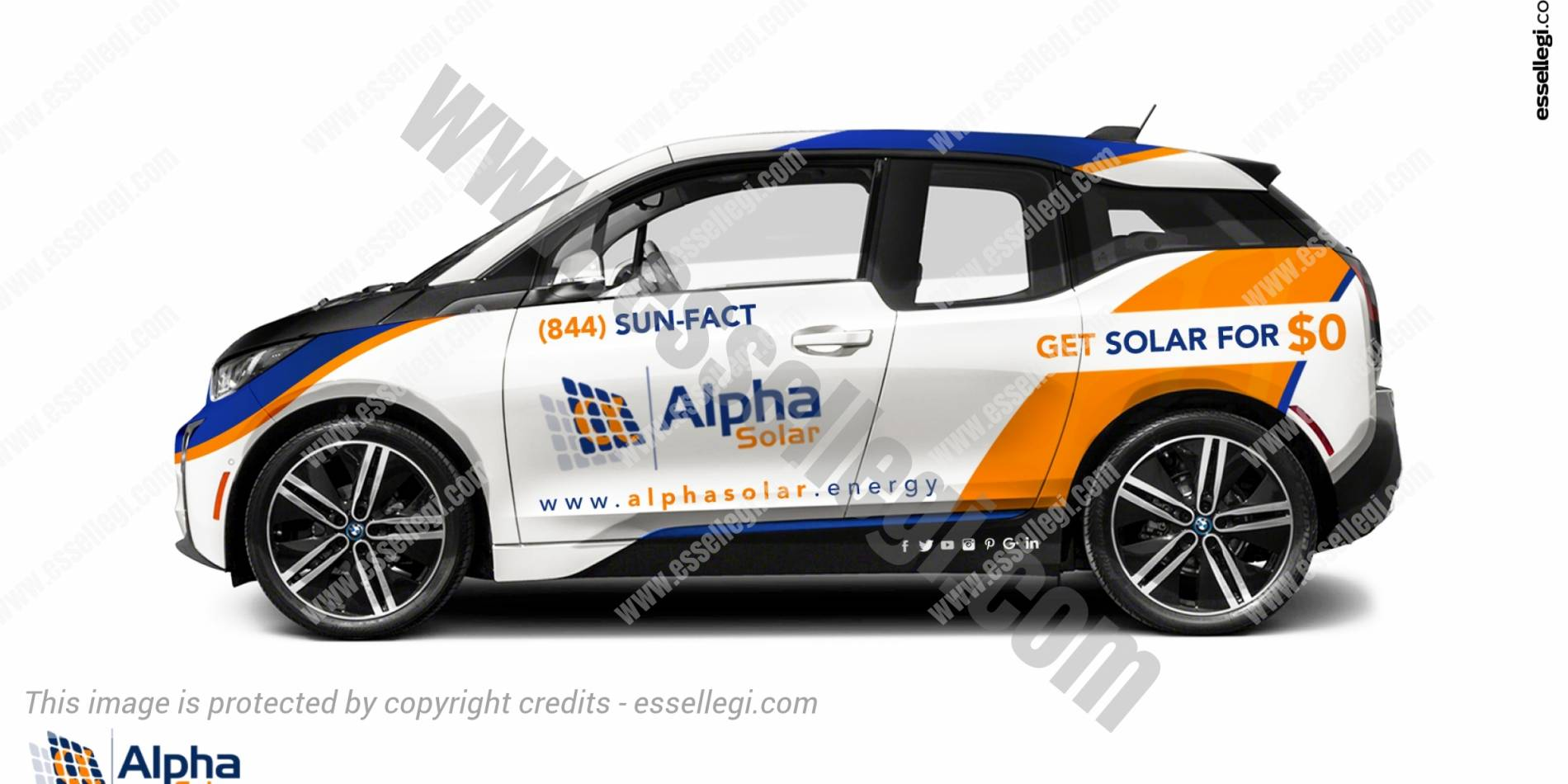 ALPHA SOLAR | CAR WRAP DESIGN 🇺🇸