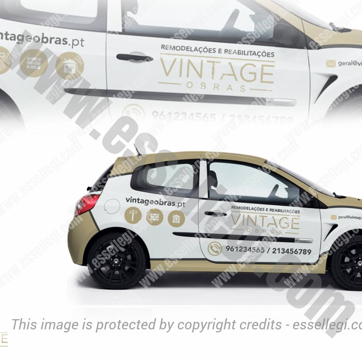 VINTAGE OBRAS | CAR WRAP DESIGN 🇵🇹