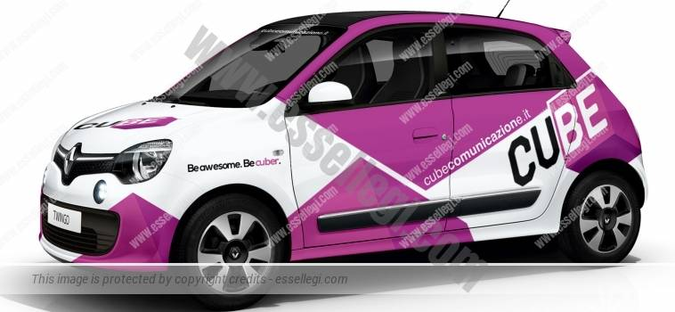 RENAULT TWINGO | CAR WRAP DESIGN